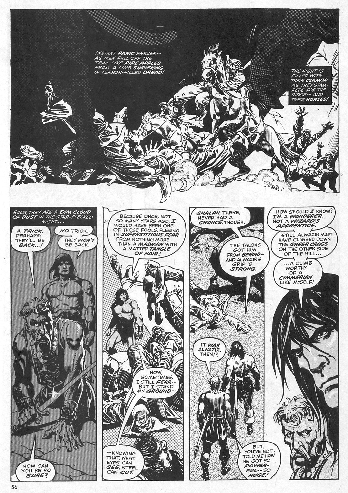 The Savage Sword Of Conan Issue #28 #29 - English 56