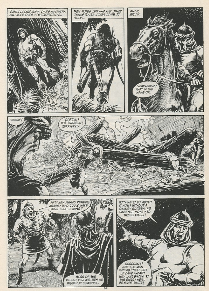 The Savage Sword Of Conan Issue #189 #190 - English 52