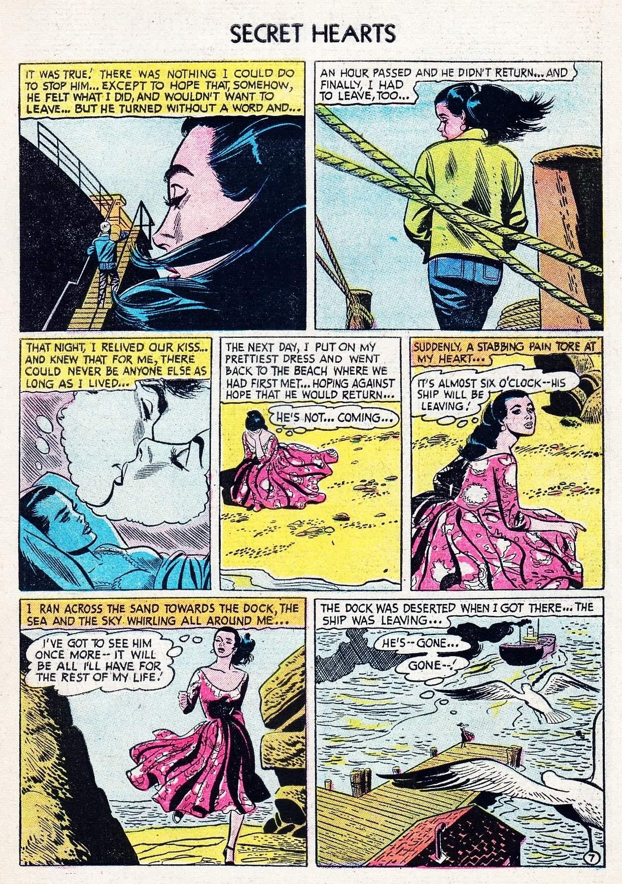 Read online Secret Hearts comic -  Issue #29 - 33