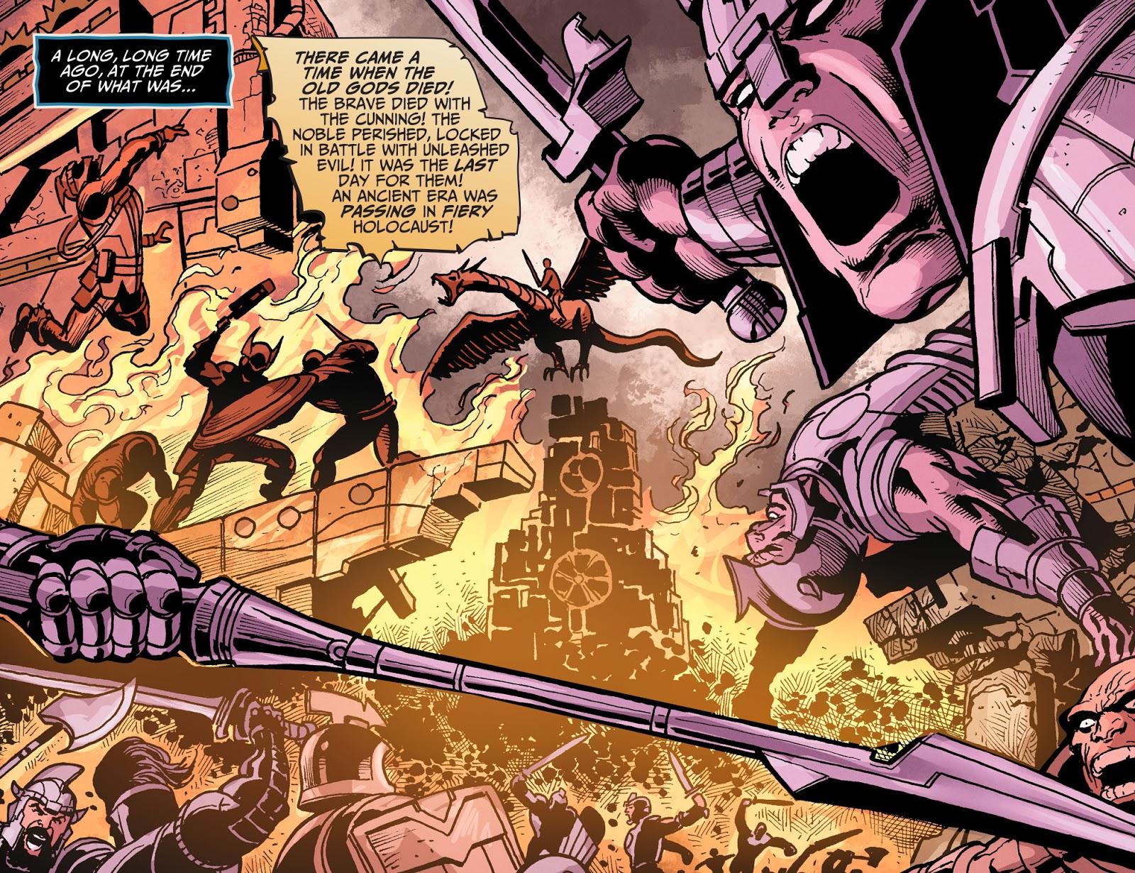 Injustice: Gods Among Us Year Four Issue #16 #17 - English 7
