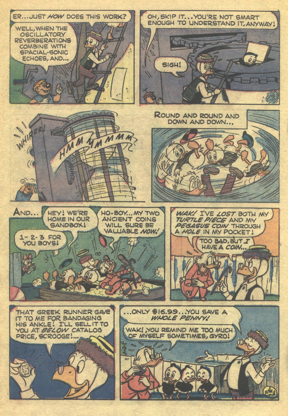 Uncle Scrooge (1953) Issue #75 #75 - English 16