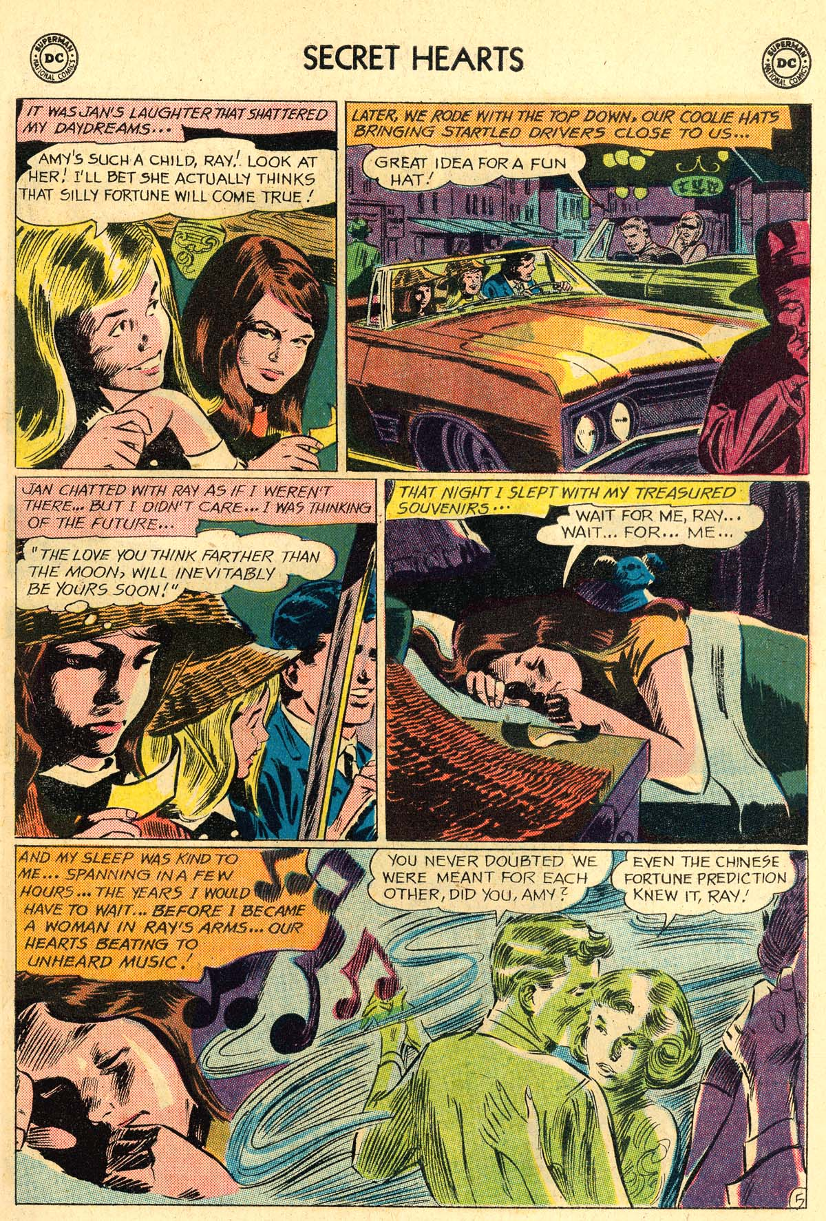 Read online Secret Hearts comic -  Issue #106 - 7