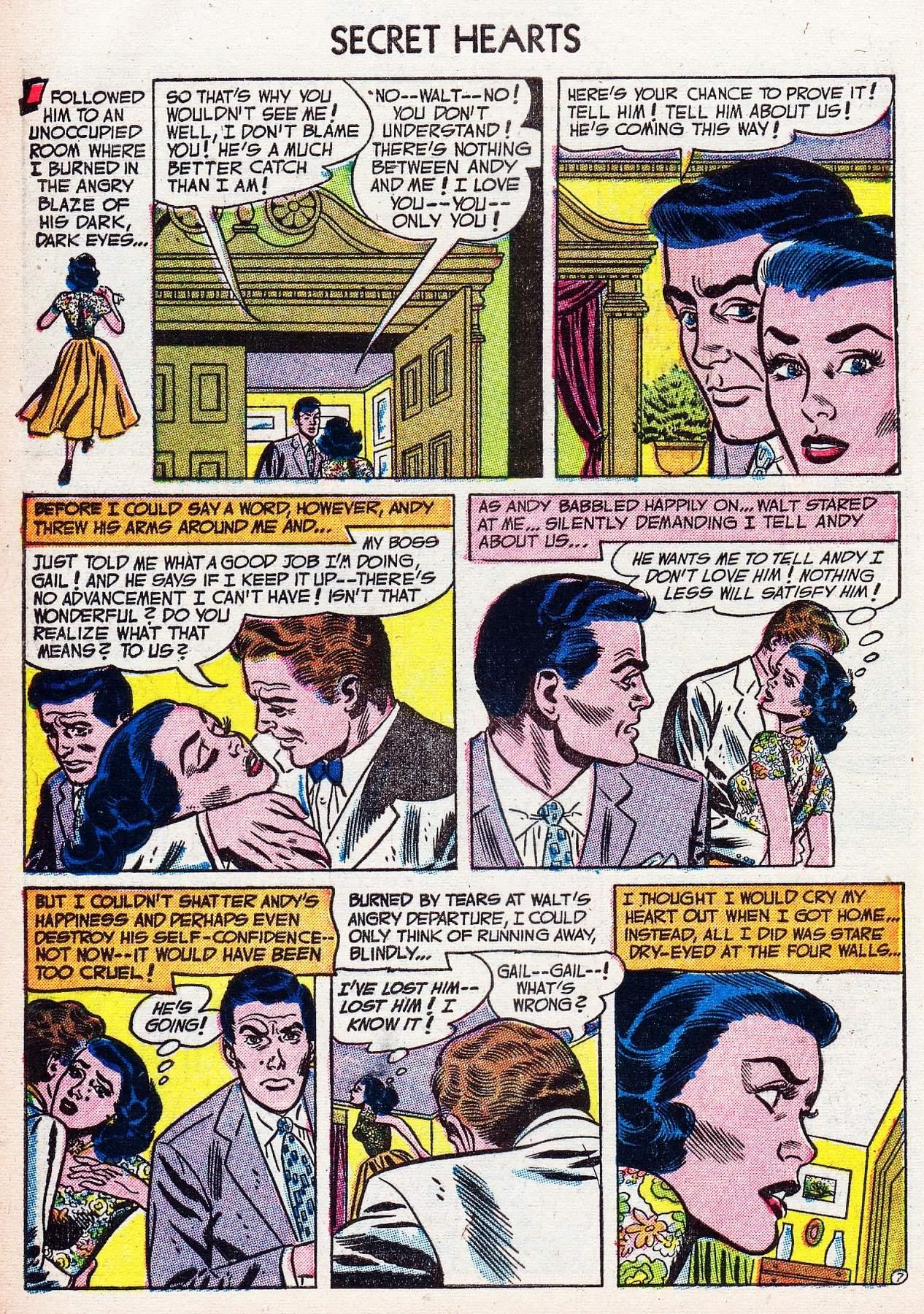 Read online Secret Hearts comic -  Issue #16 - 32