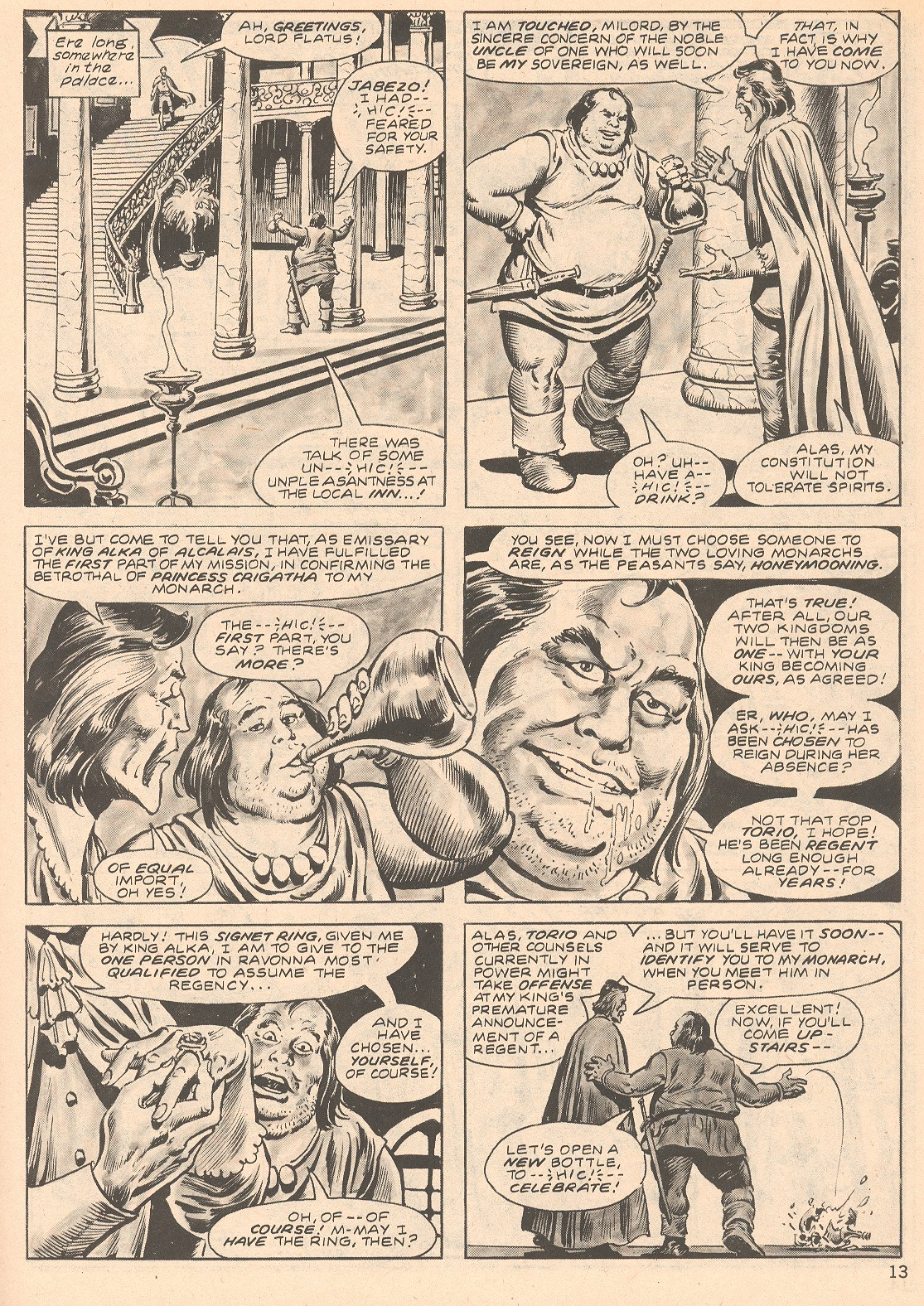 The Savage Sword Of Conan Issue #66 #67 - English 13