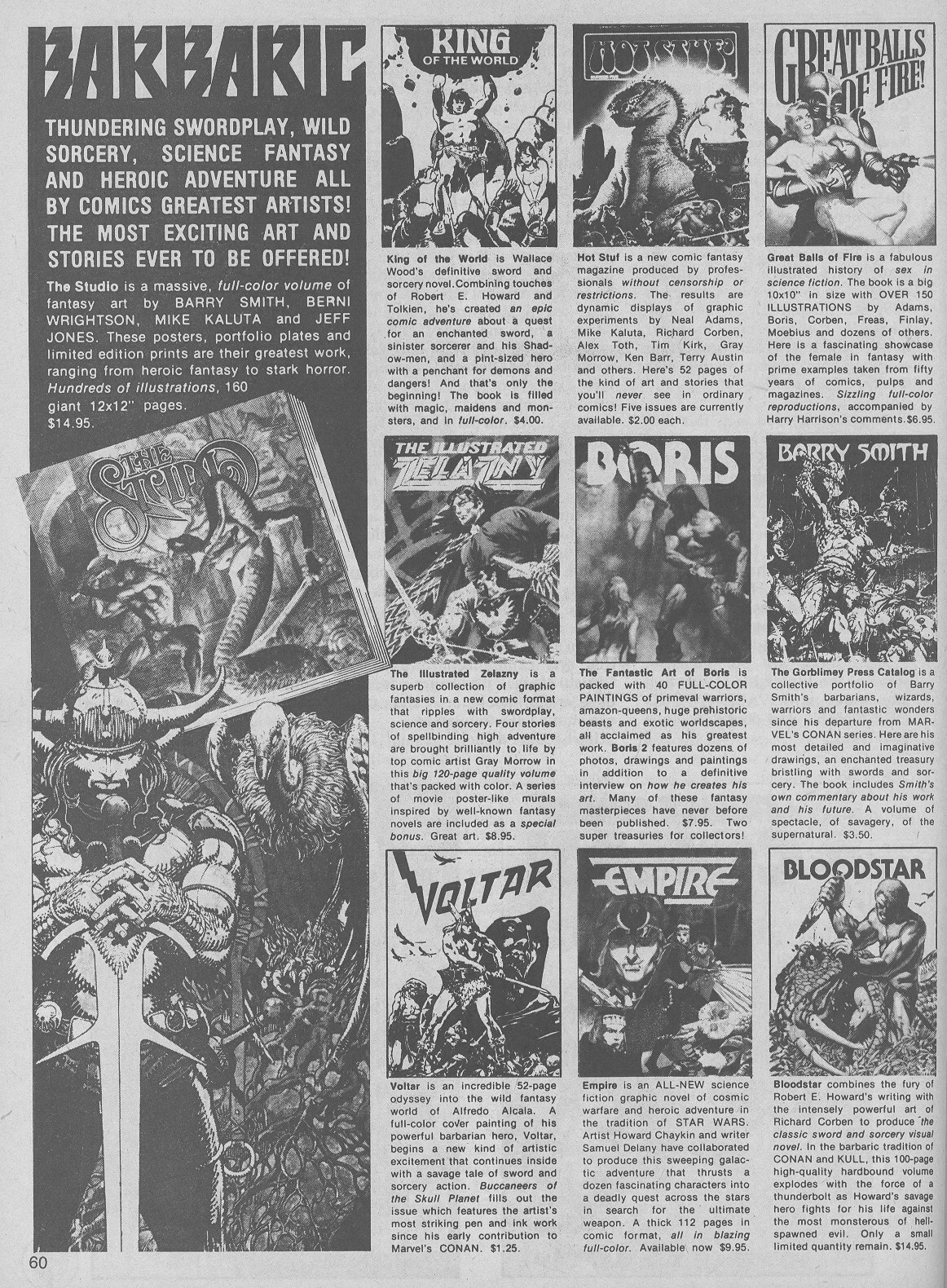 The Savage Sword Of Conan Issue #50 #51 - English 60
