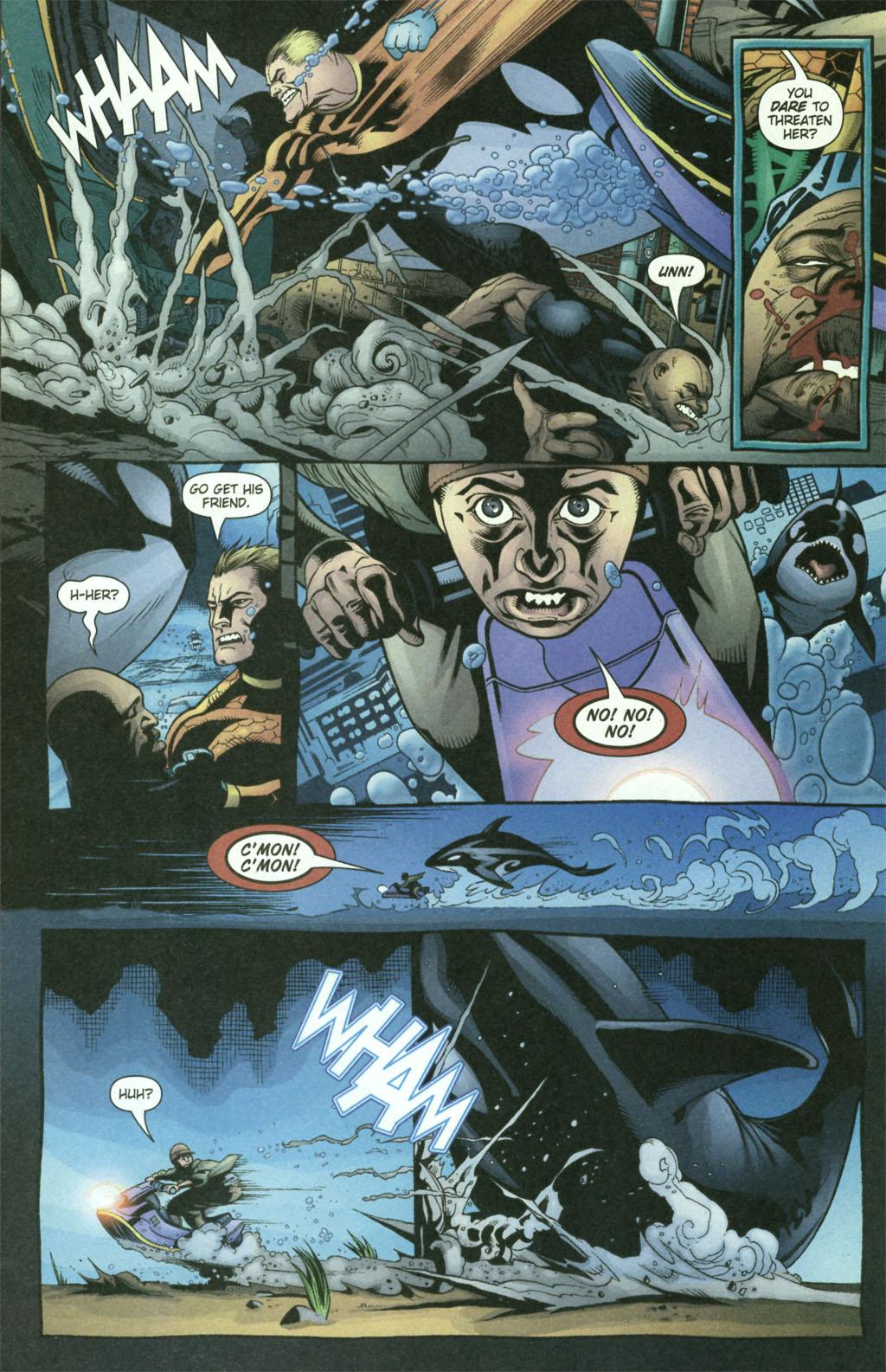Aquaman (2003) Issue #21 #21 - English 16