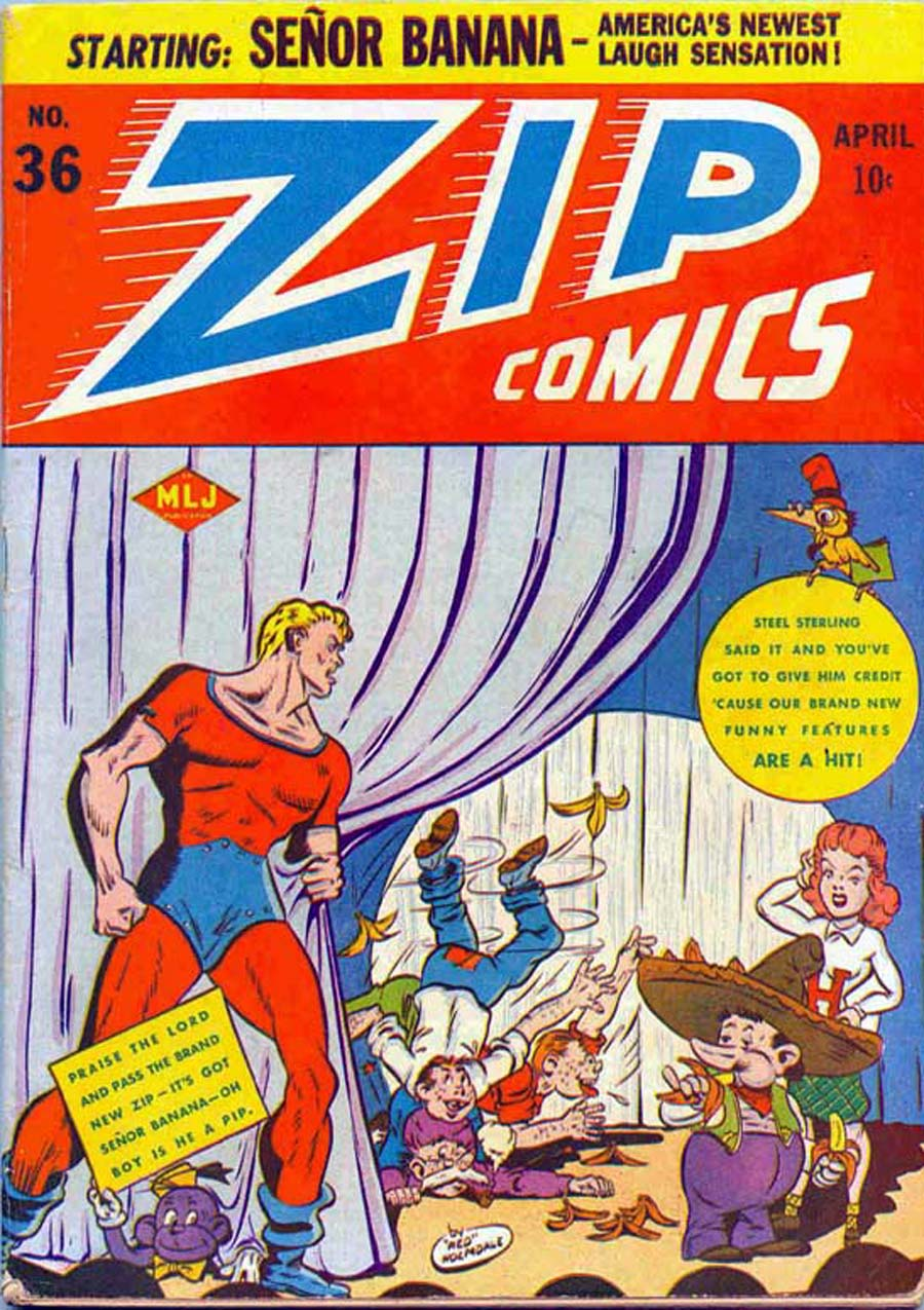 Zip Comics 36 Page 1