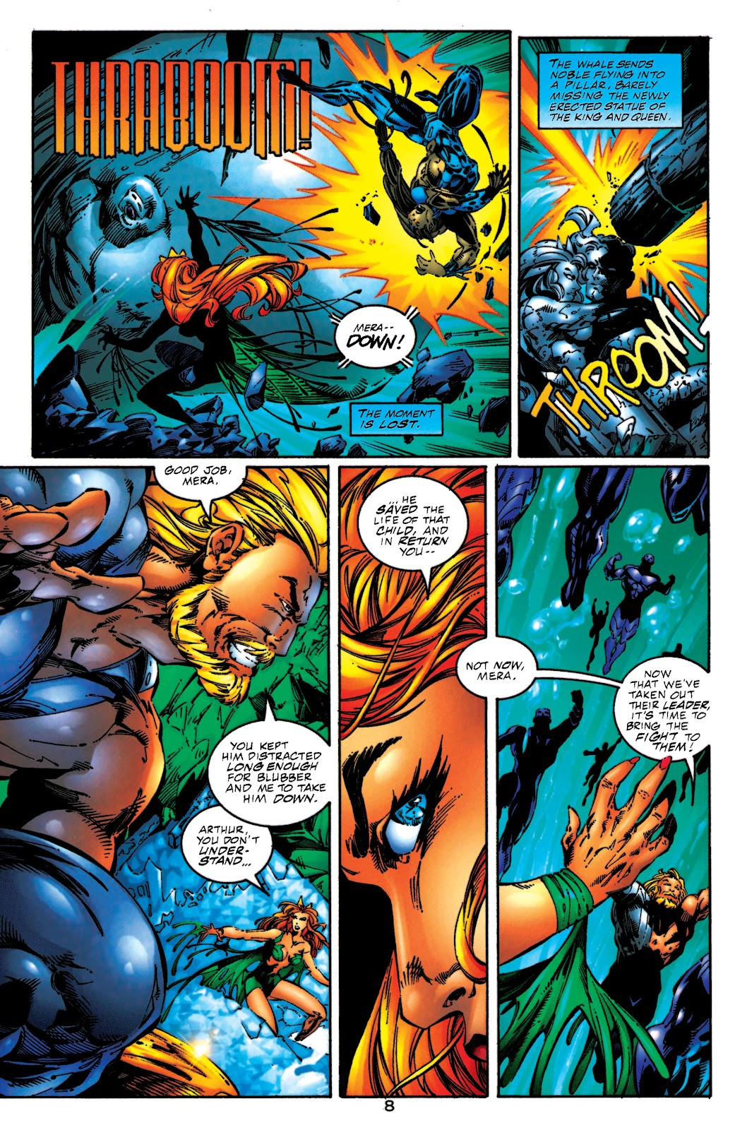 Aquaman (1994) Issue #51 #57 - English 8