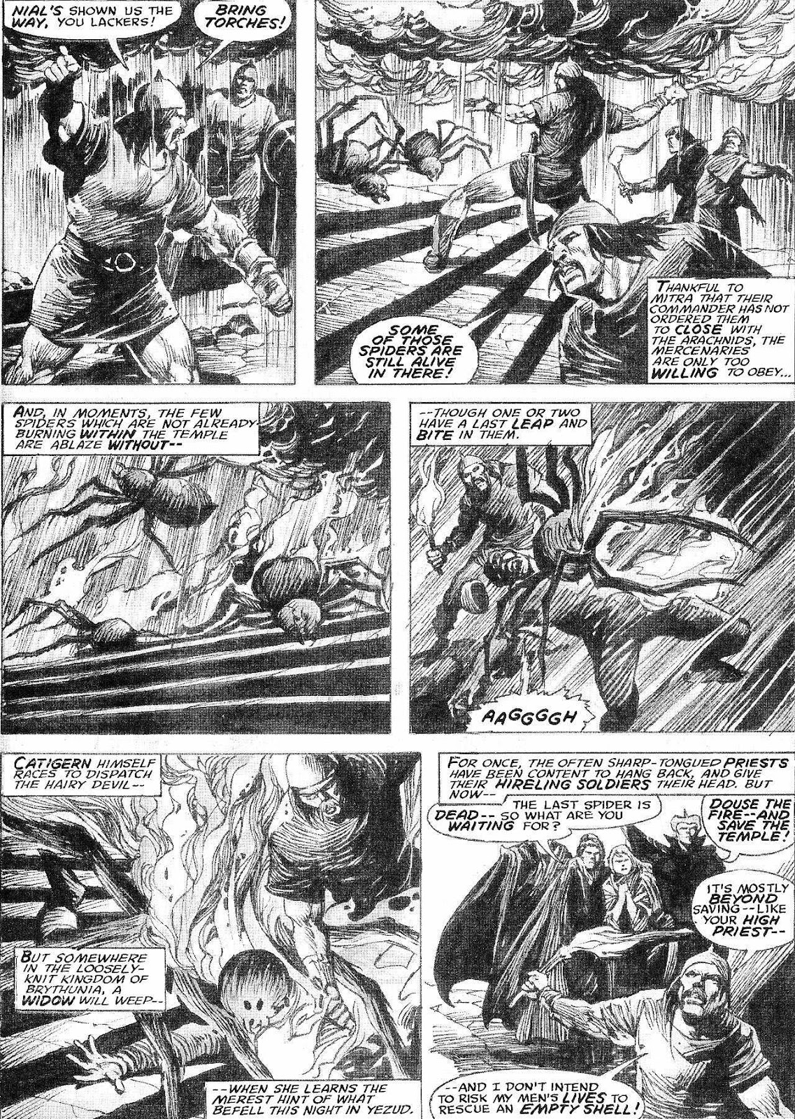 The Savage Sword Of Conan Issue #210 #211 - English 40