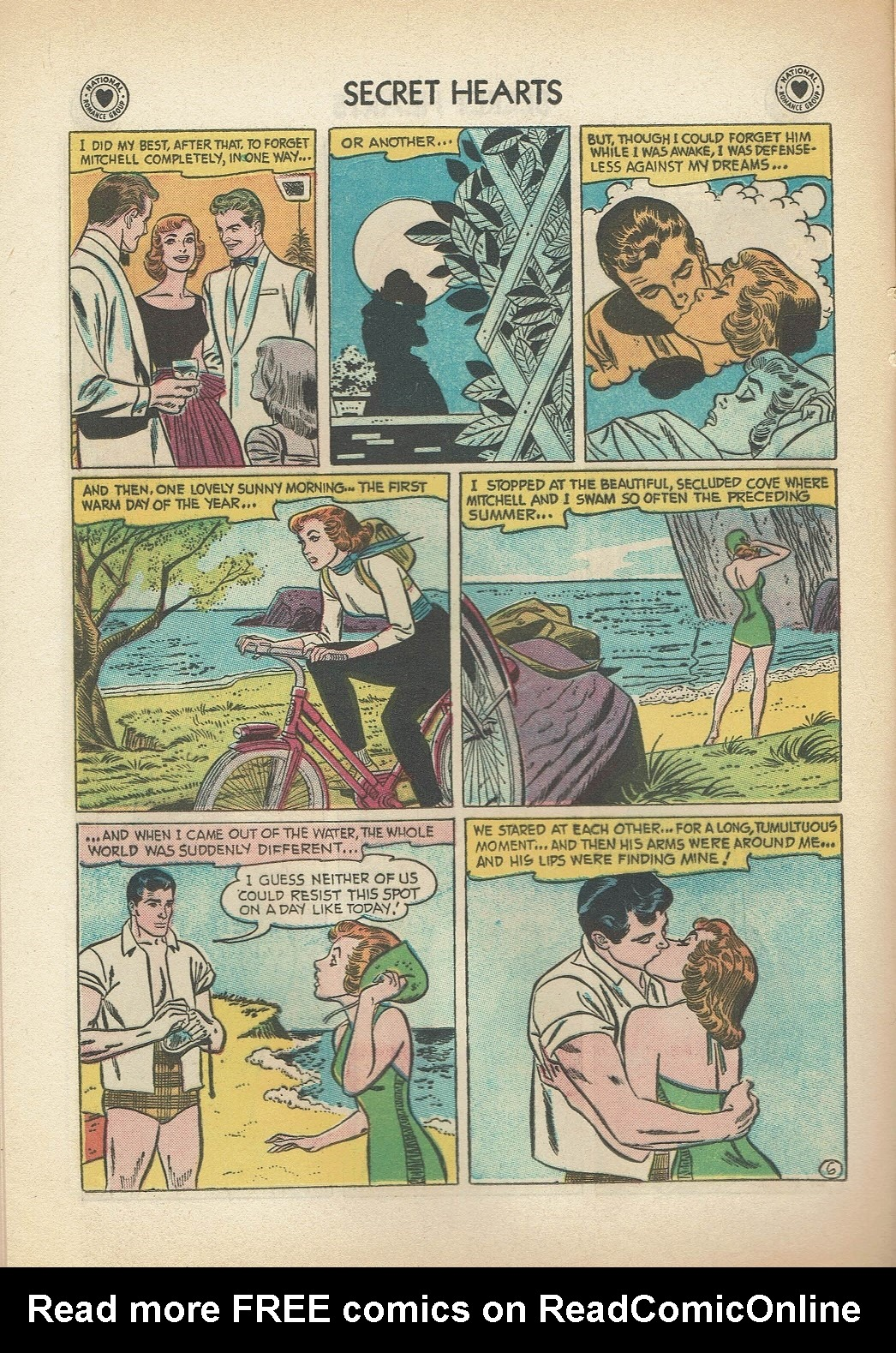Read online Secret Hearts comic -  Issue #47 - 16