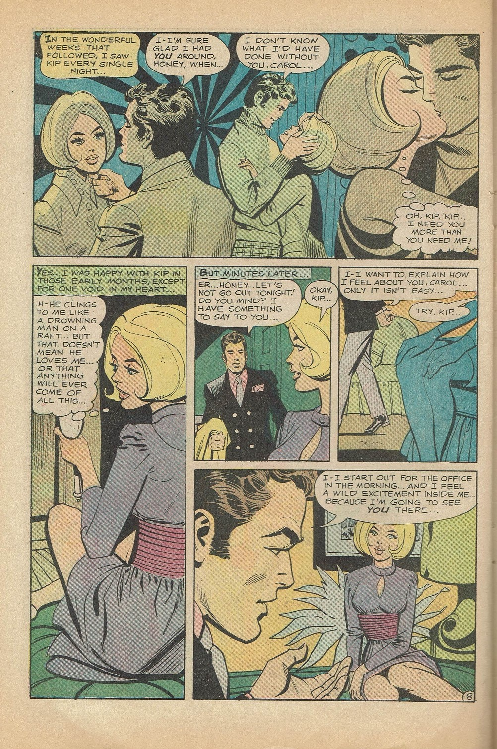 Read online Secret Hearts comic -  Issue #144 - 30