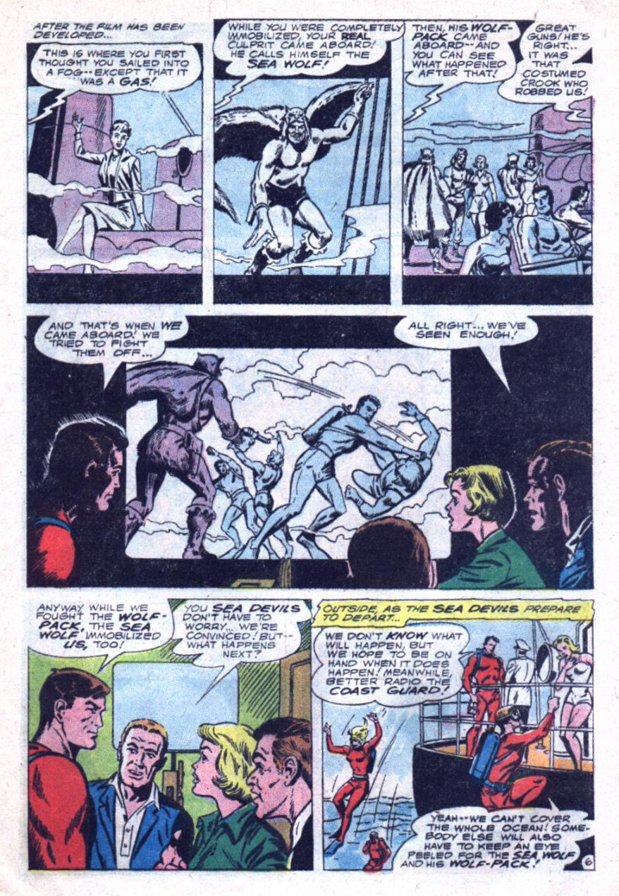Read online Sea Devils comic -  Issue #33 - 10