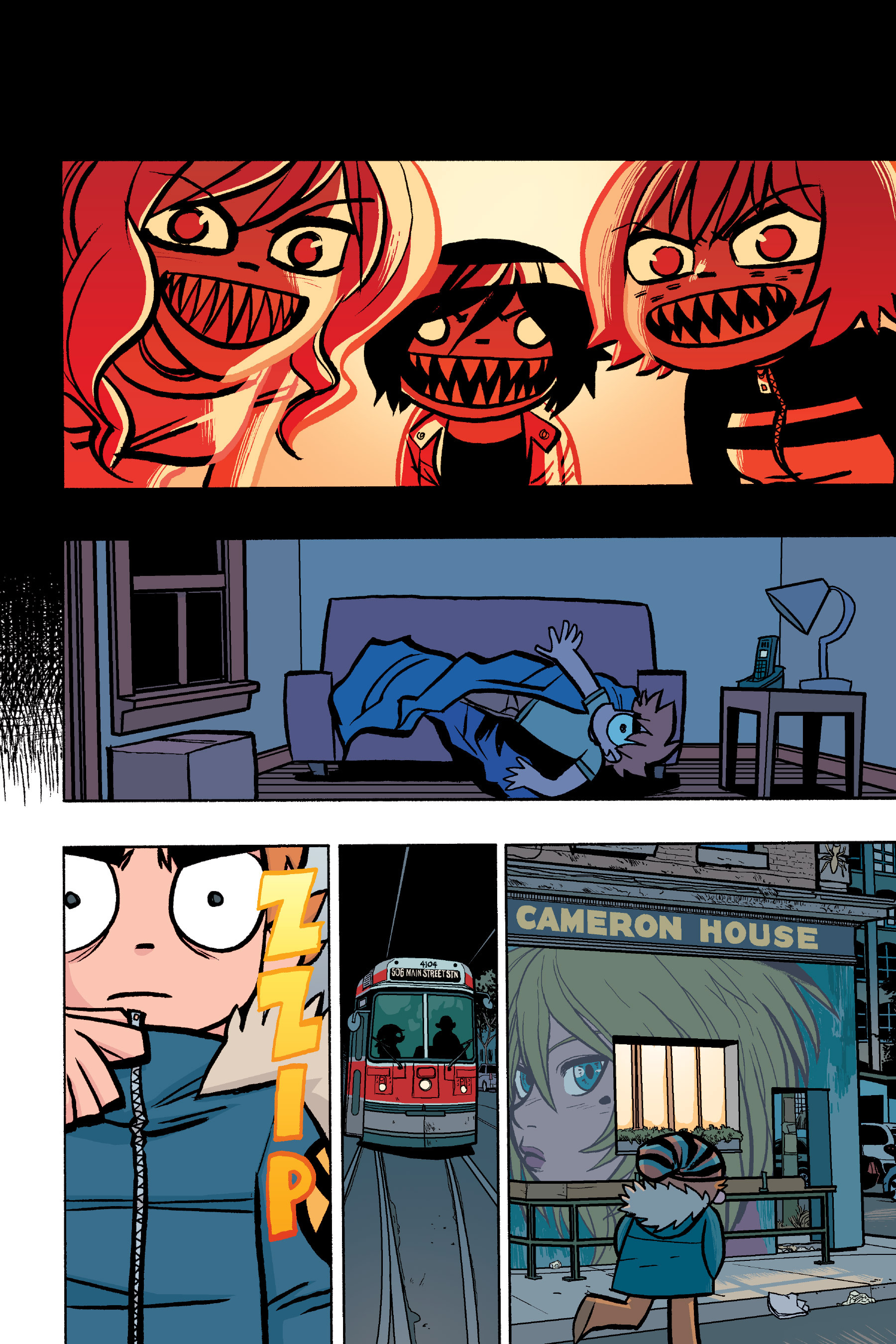 Read online Scott Pilgrim comic -  Issue #6 - 27