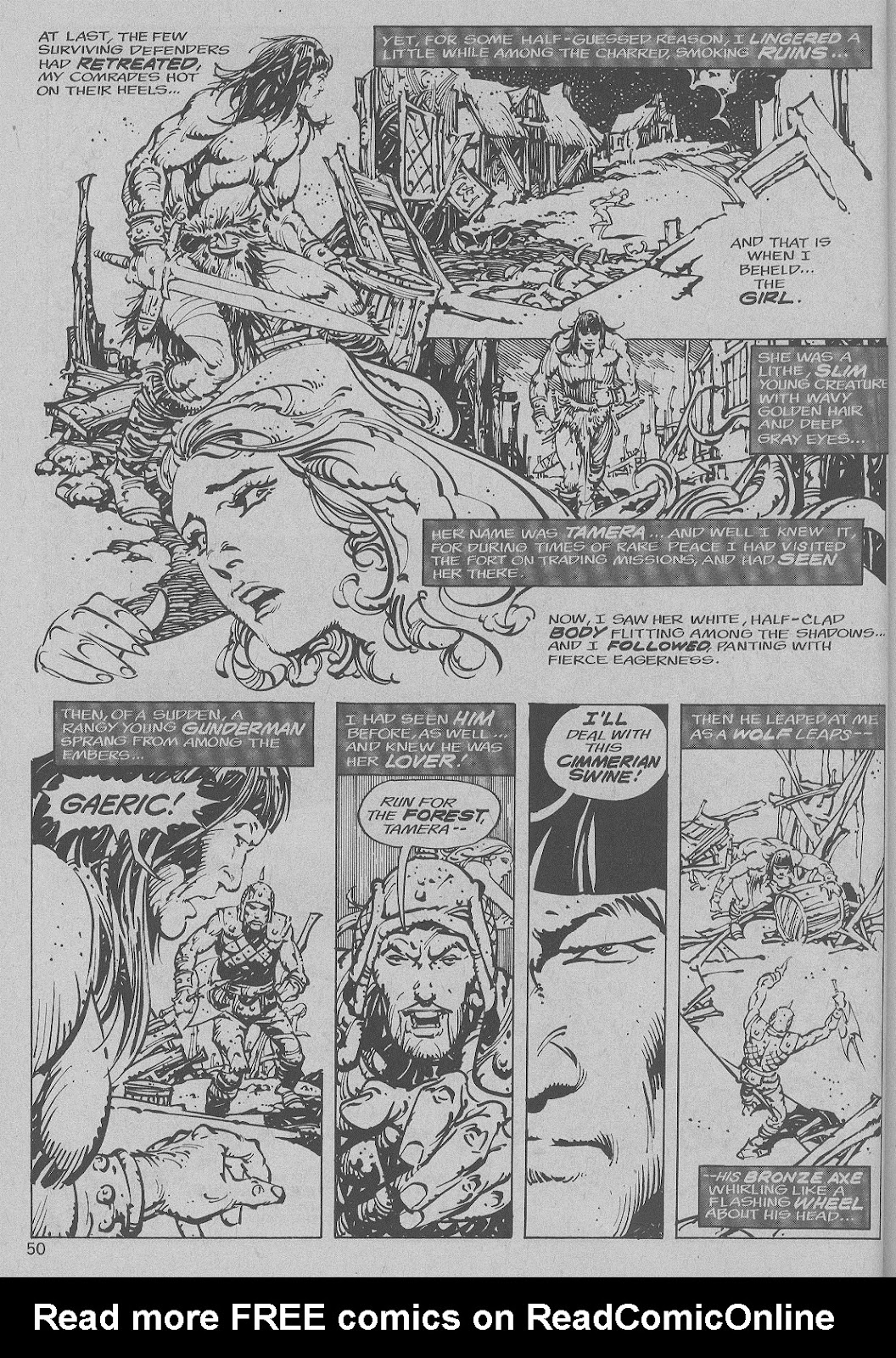 The Savage Sword Of Conan Issue #6 #7 - English 42
