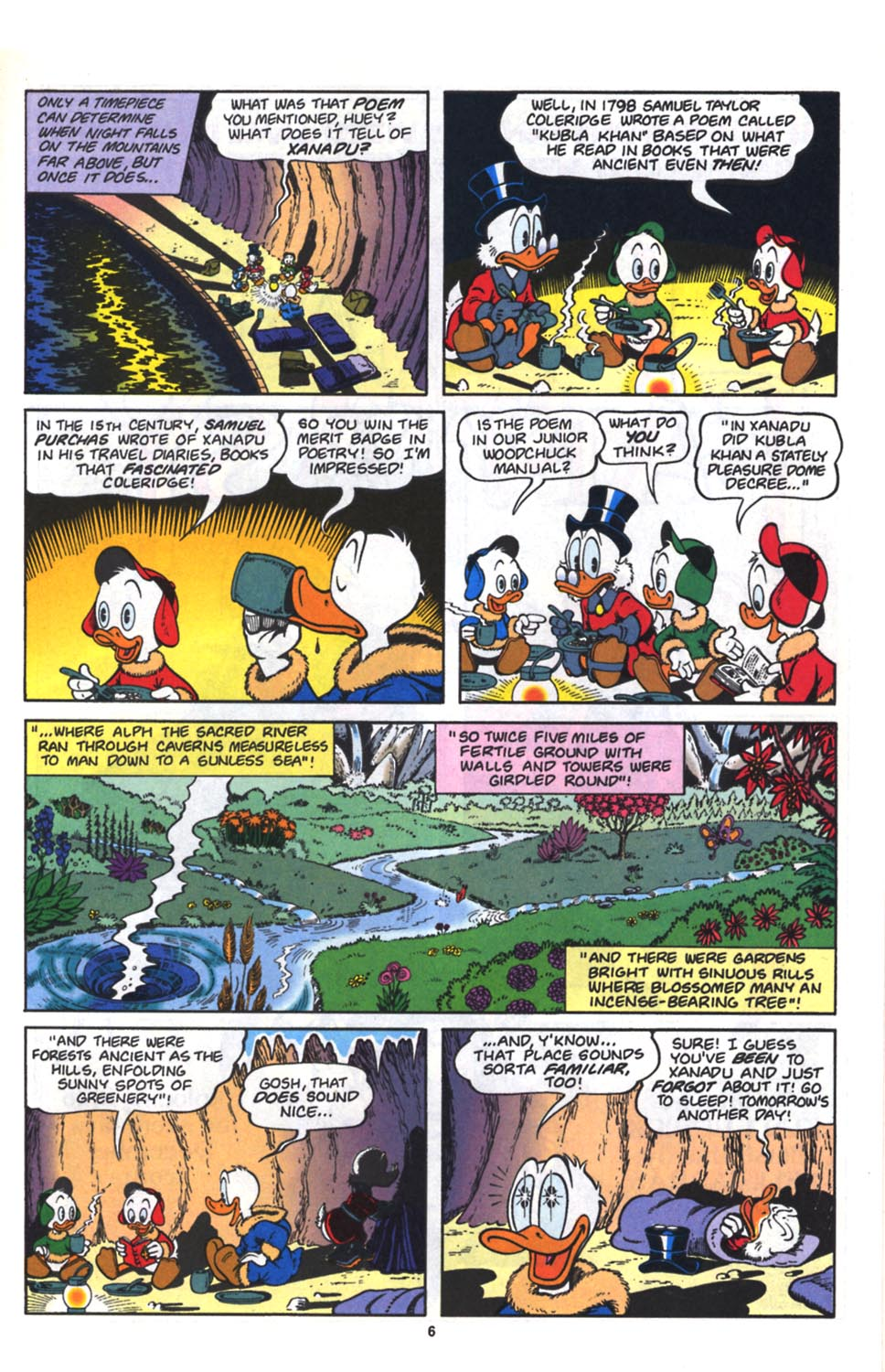 Uncle Scrooge (1953) Issue #261 #261 - English 7