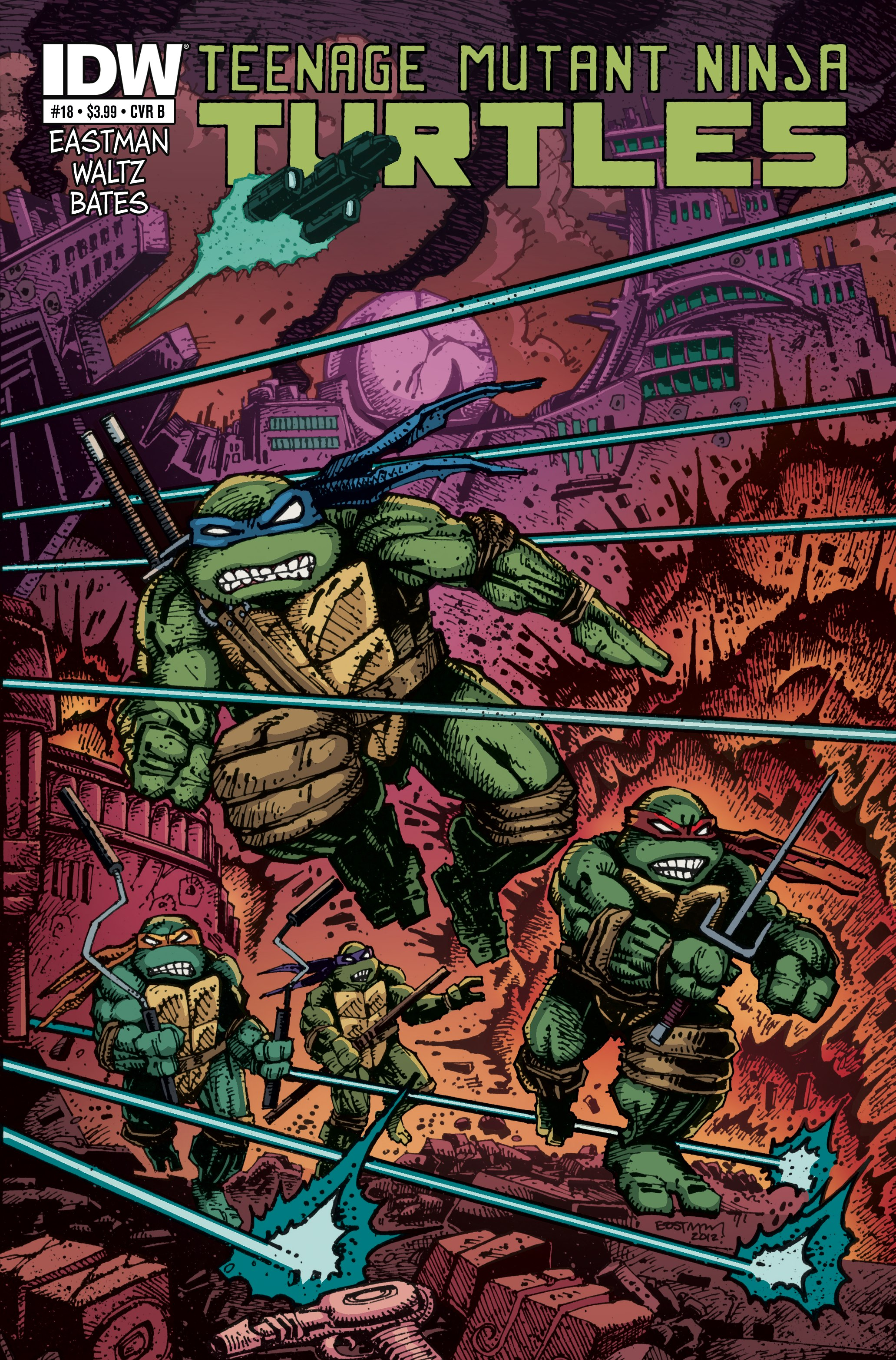 Teenage Mutant Ninja Turtles (2011) 18 Page 2