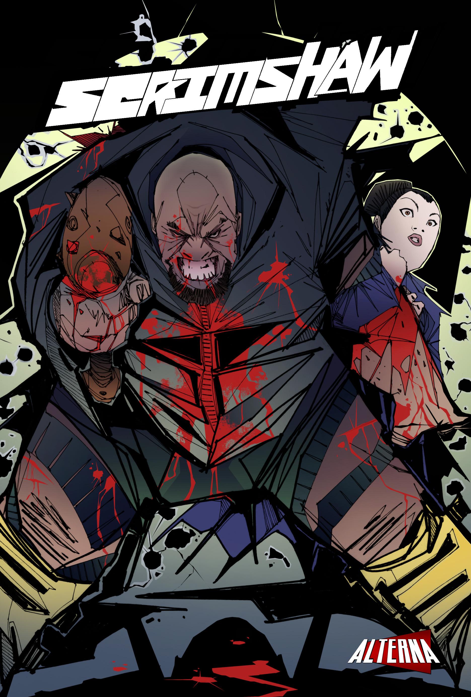 Read online Scrimshaw comic -  Issue #3 - 1