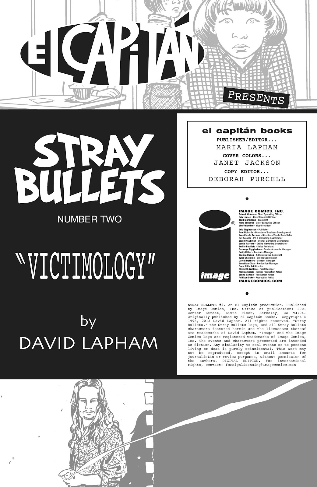 Stray Bullets Issue #2 #2 - English 2