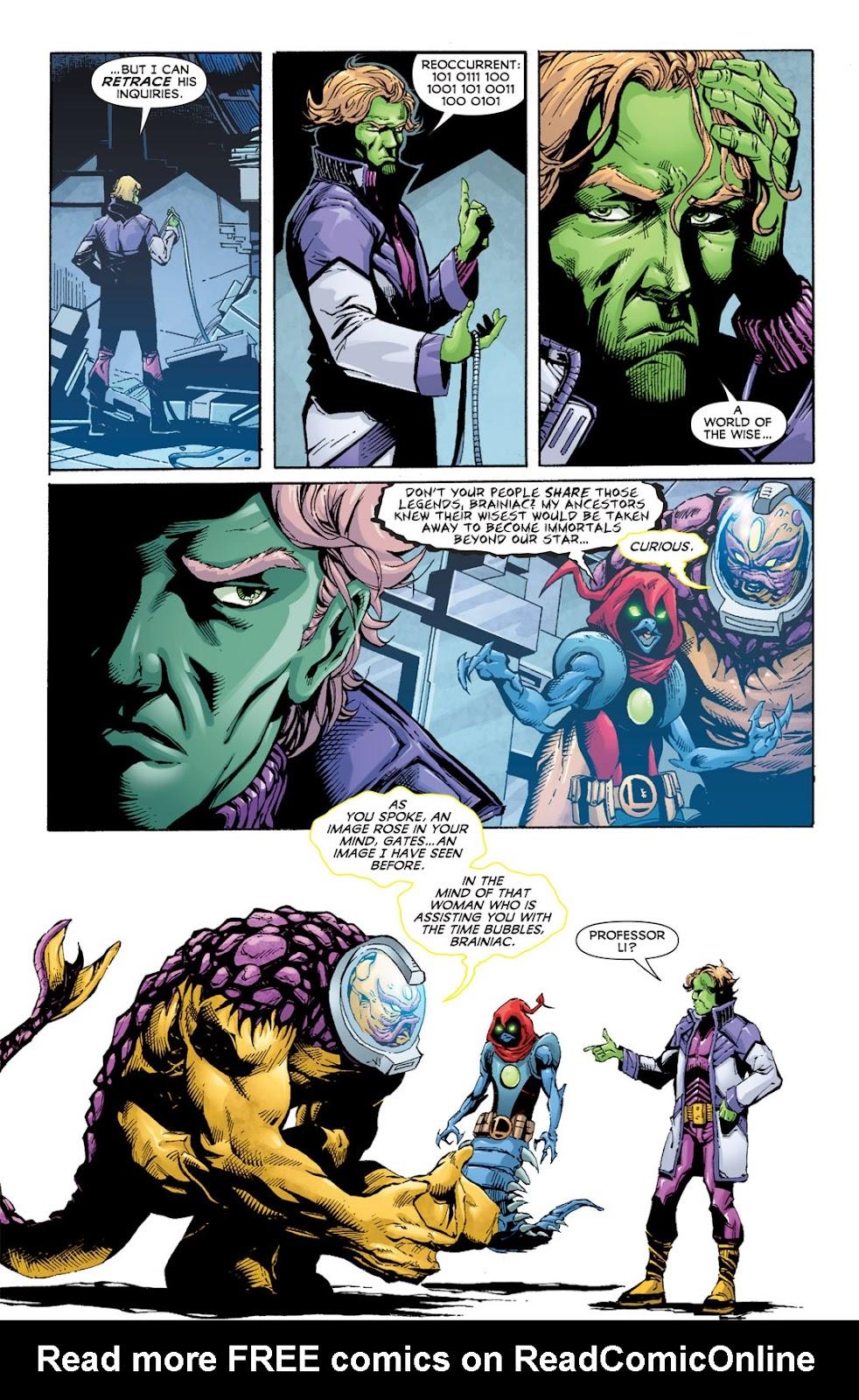 Legion of Super-Heroes (2010) Issue #13 #14 - English 15