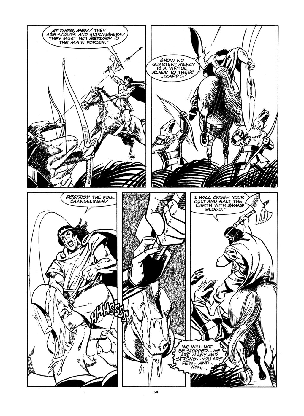 The Savage Sword Of Conan Issue #148 #149 - English 62