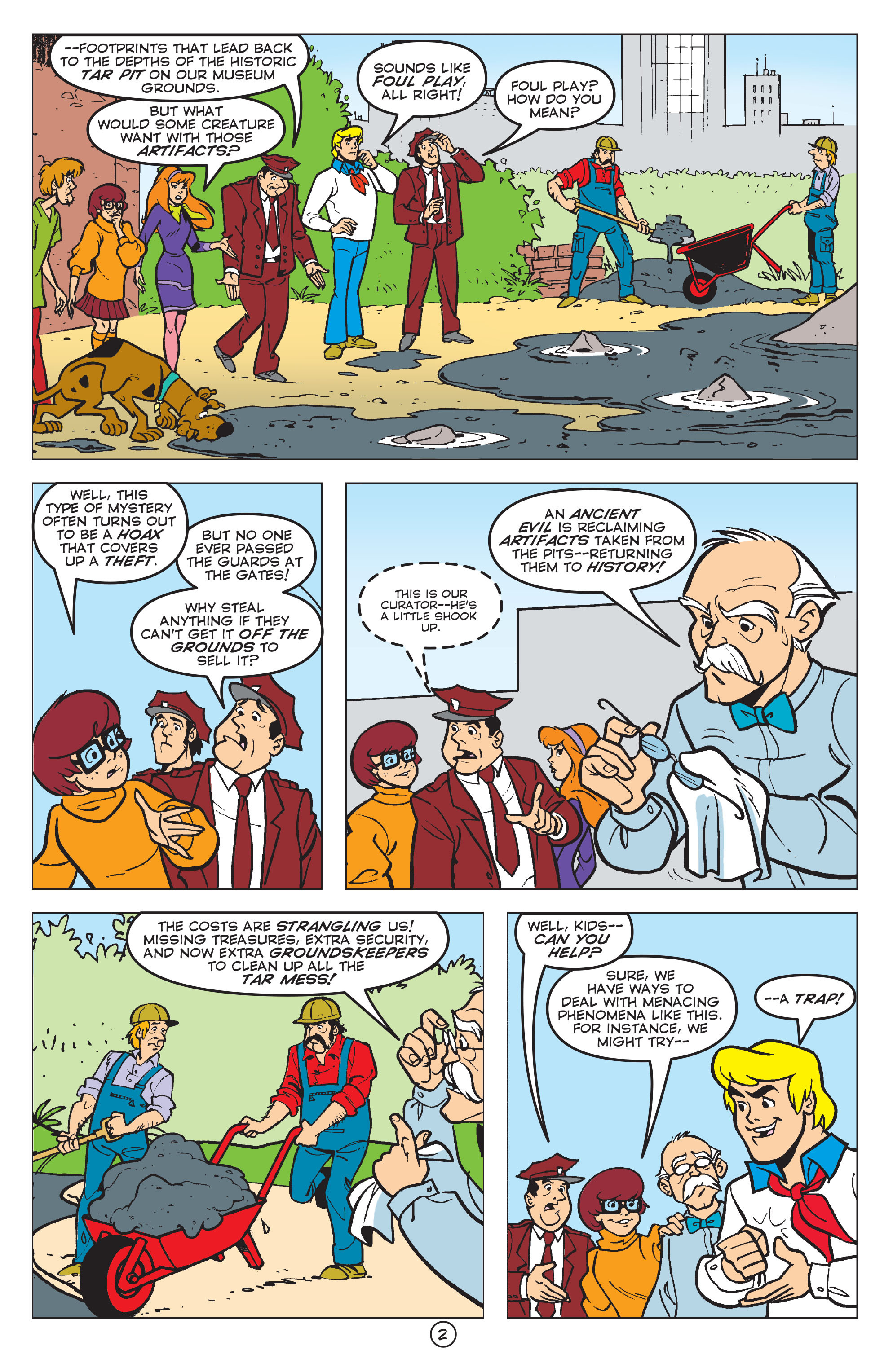 Read online Scooby-Doo: Where Are You? comic -  Issue #58 - 13