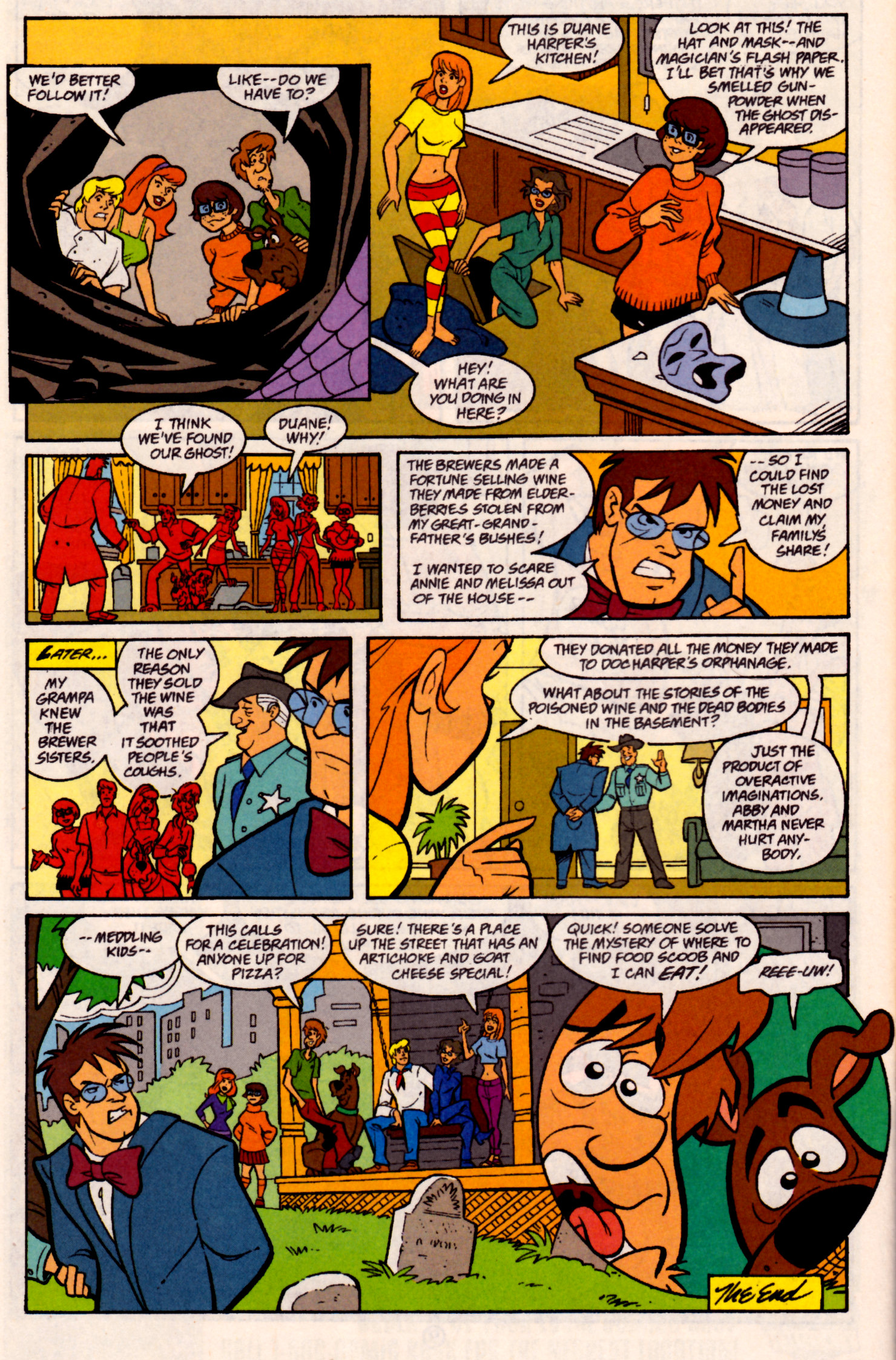 Read online Scooby-Doo (1997) comic -  Issue #31 - 23