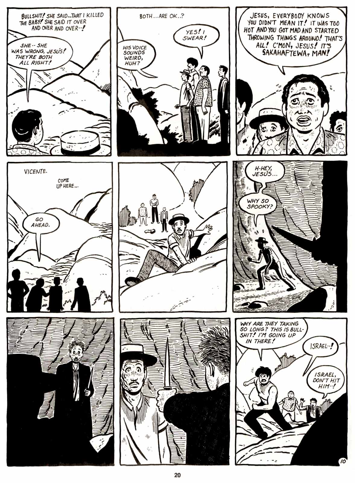 Love and Rockets (1982) Issue #9 #8 - English 22