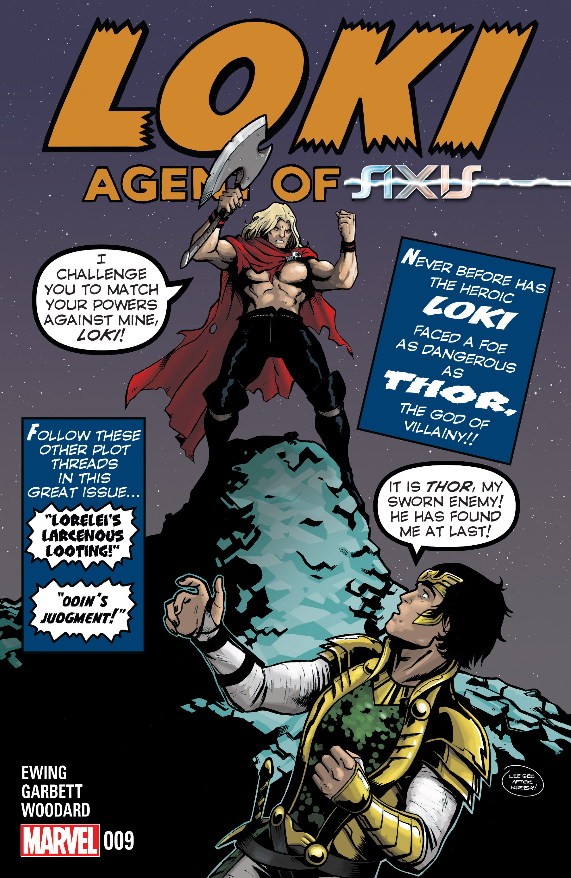 Loki: Agent of Asgard 9 Page 1