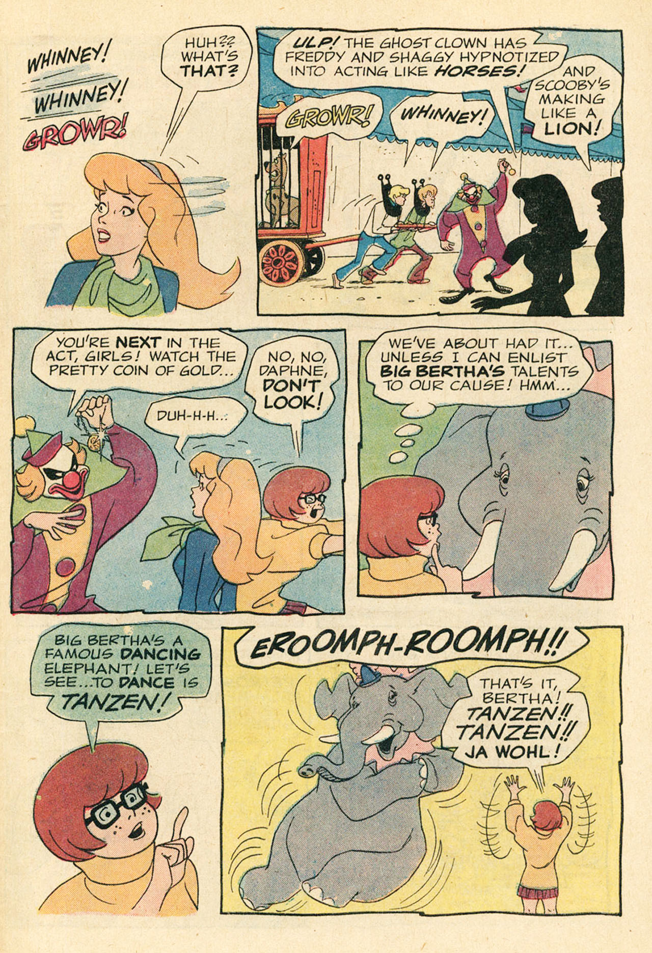 Read online Scooby-Doo... Where Are You! (1970) comic -  Issue #9 - 32
