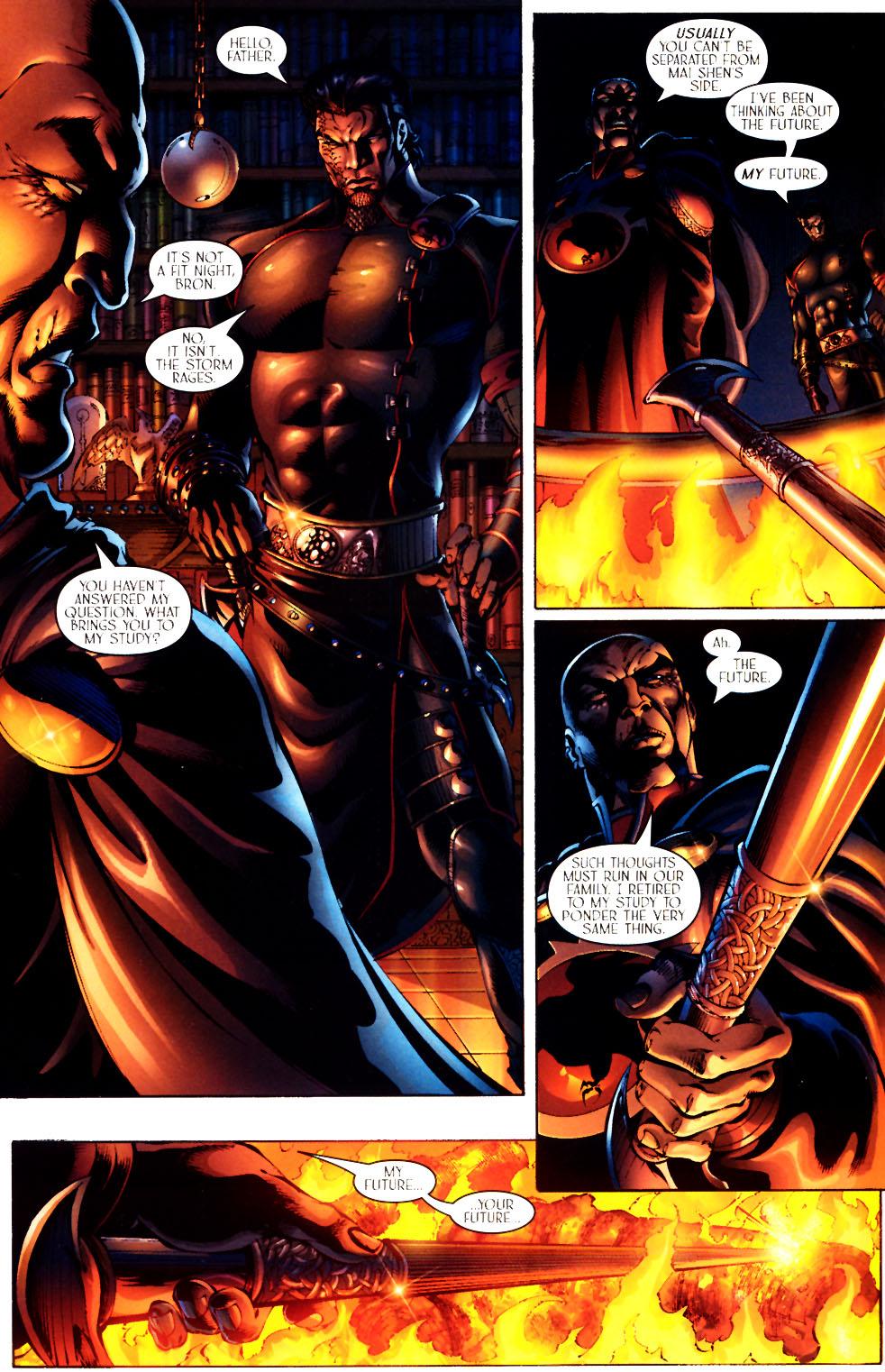 Read online Scion comic -  Issue #12 - 8