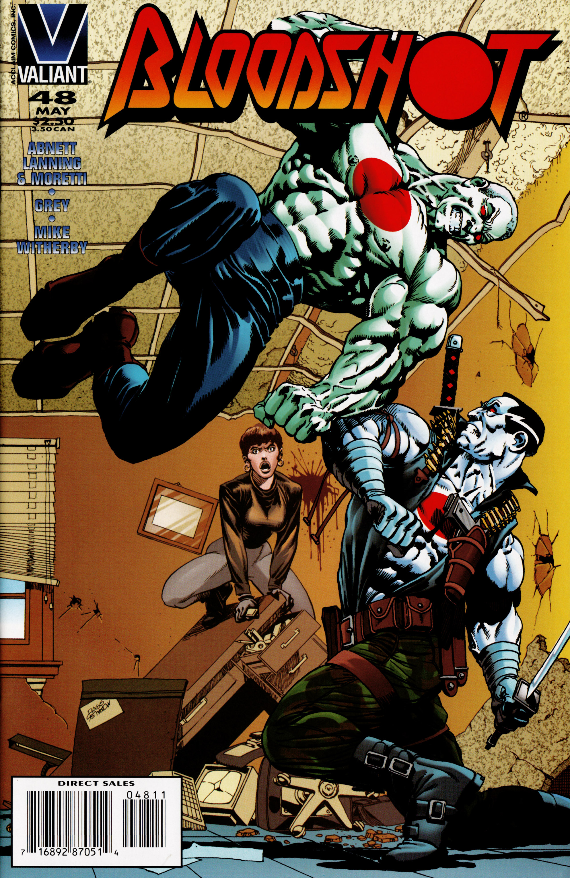 Read online Bloodshot (1993) comic -  Issue #48 - 1
