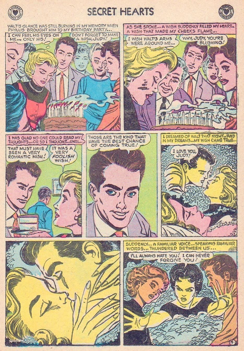 Read online Secret Hearts comic -  Issue #44 - 13