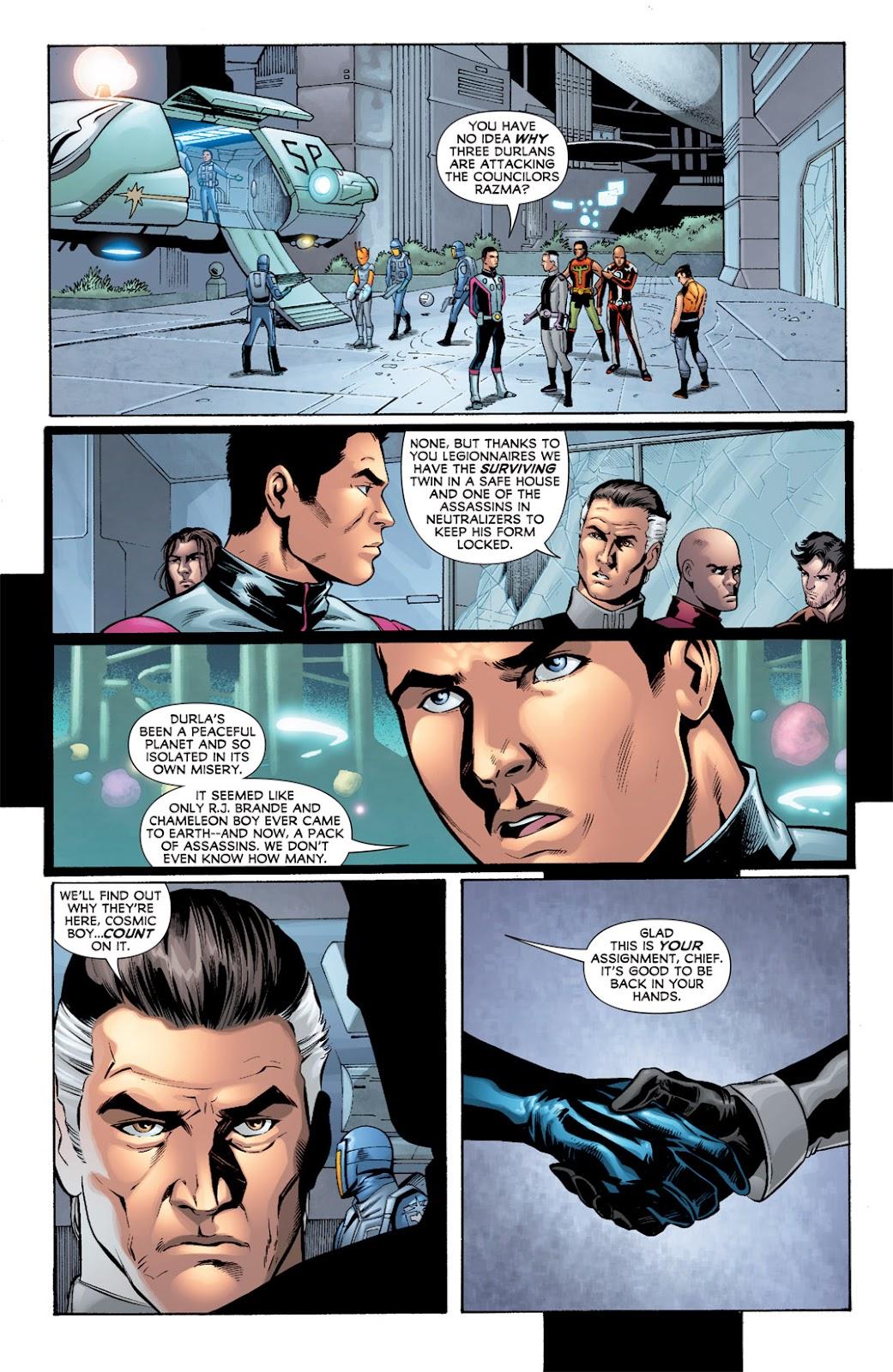 Legion of Super-Heroes (2010) Issue #7 #8 - English 18