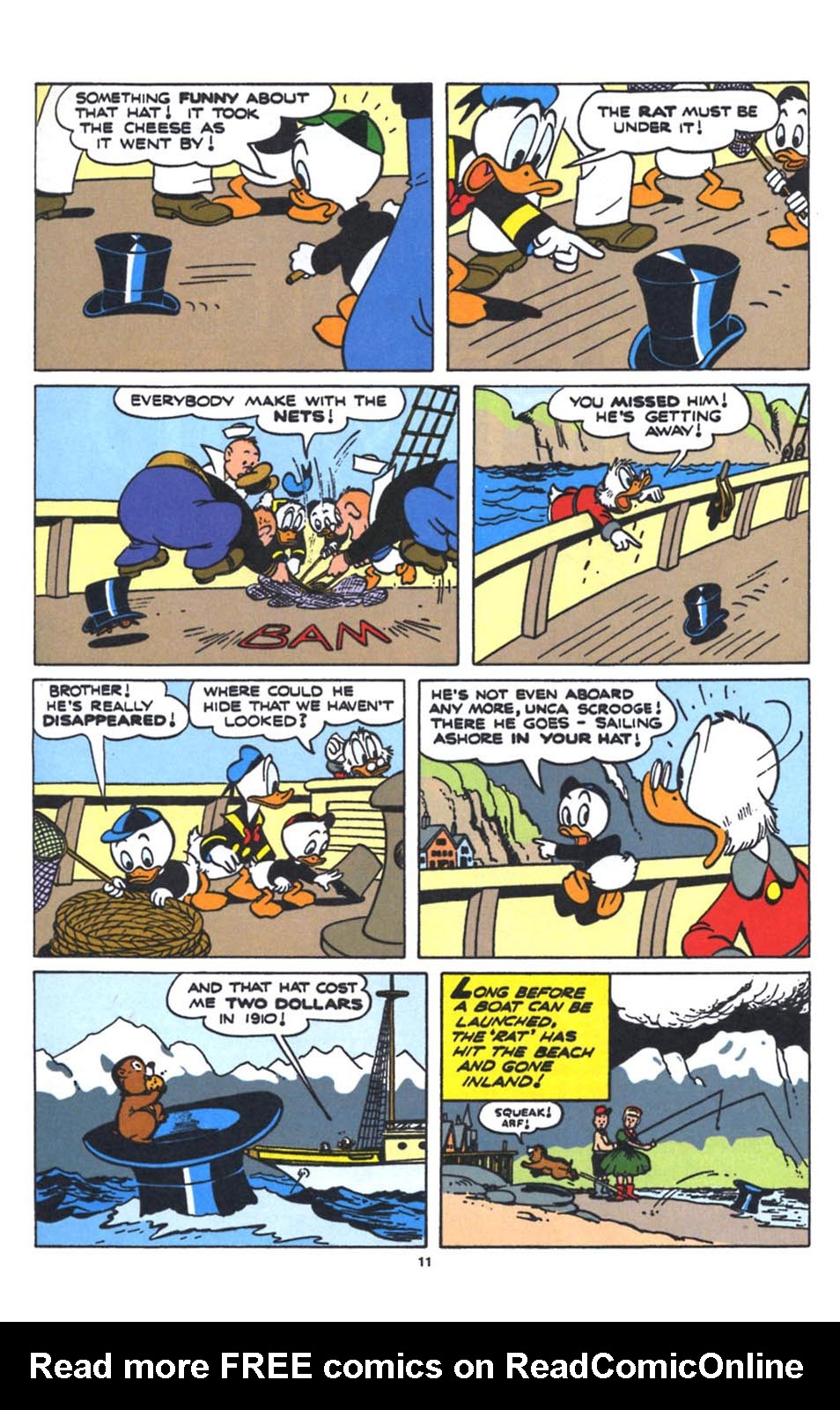 Uncle Scrooge (1953) Issue #250 #250 - English 13