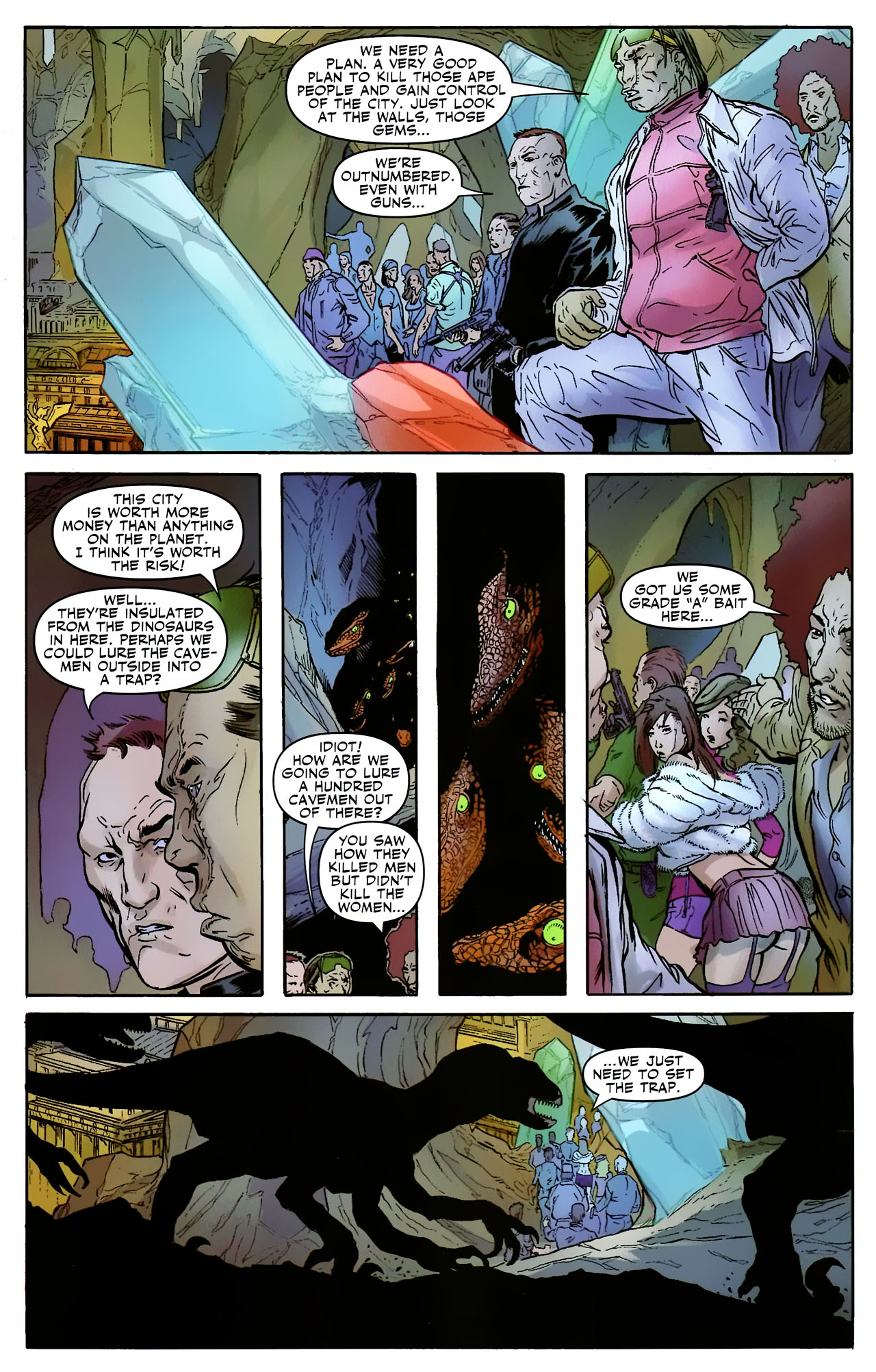 Read online Shanna the She-Devil: Survival of the Fittest comic -  Issue #2 - 17