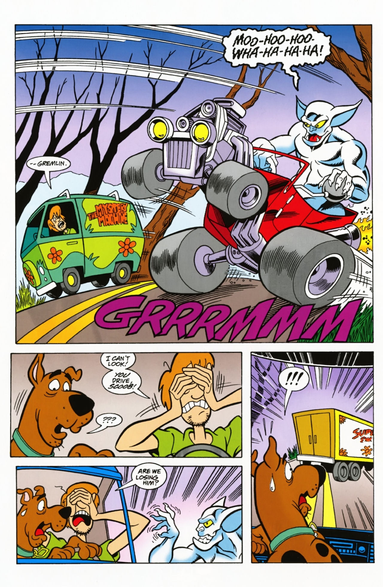 Read online Scooby-Doo: Where Are You? comic -  Issue #3 - 12
