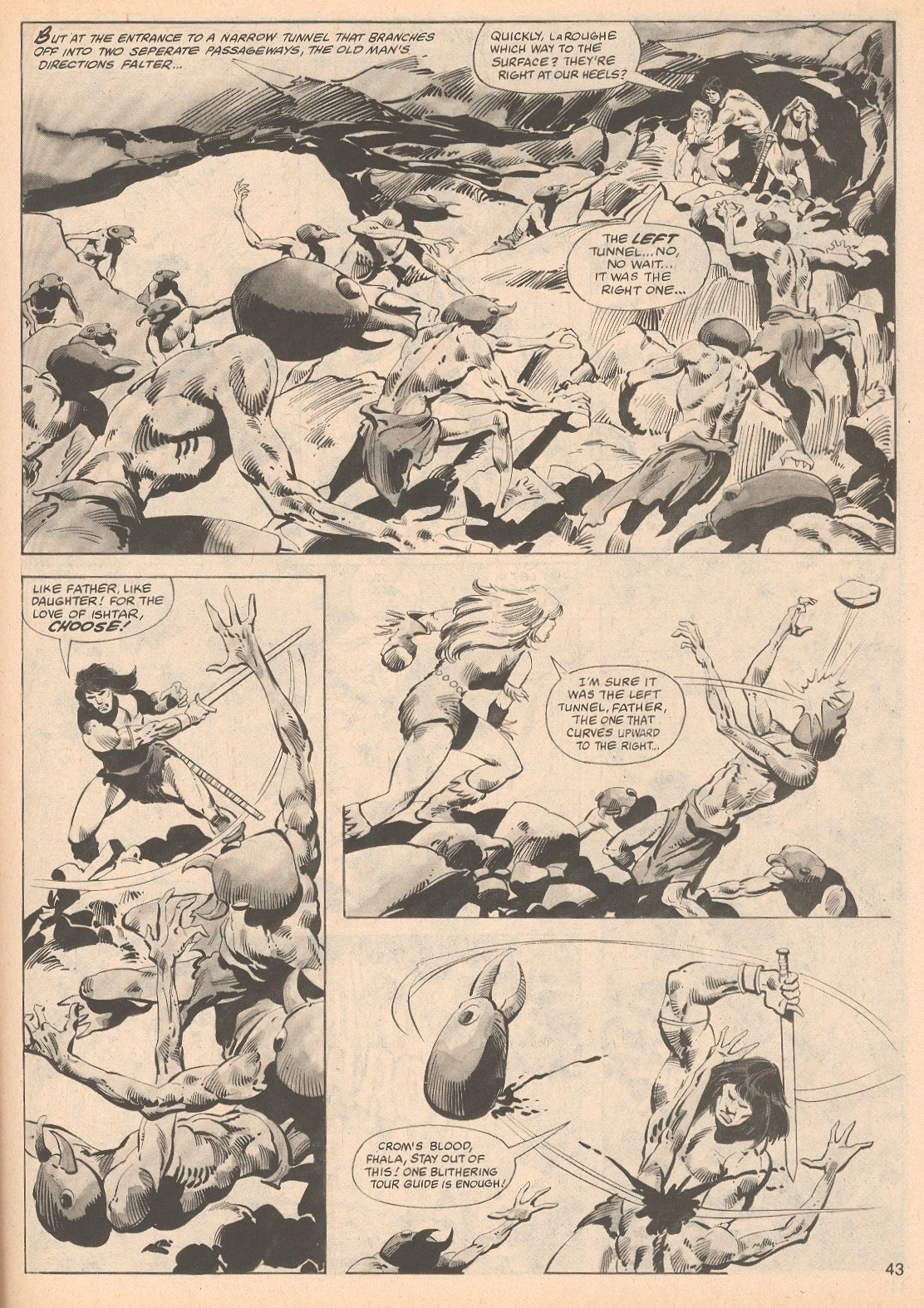 The Savage Sword Of Conan Issue #70 #71 - English 43