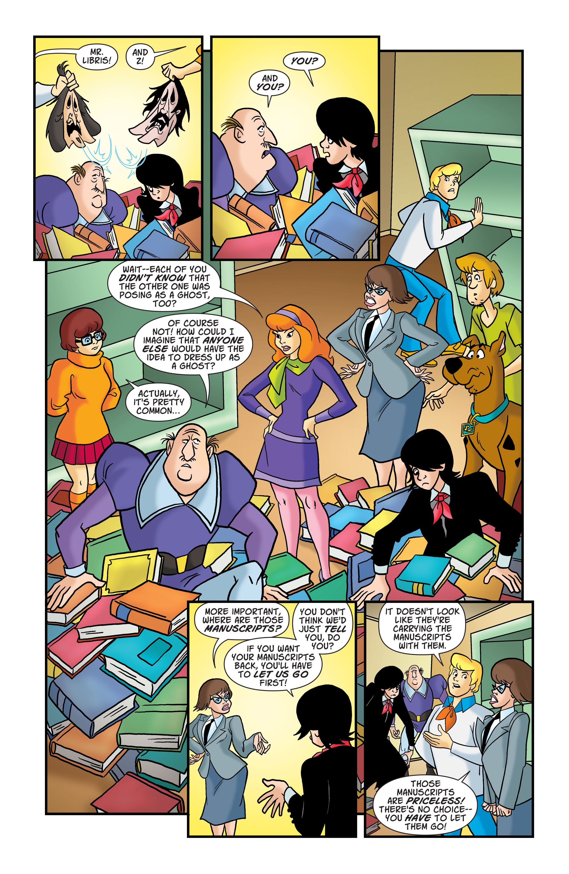 Read online Scooby-Doo: Where Are You? comic -  Issue #76 - 10