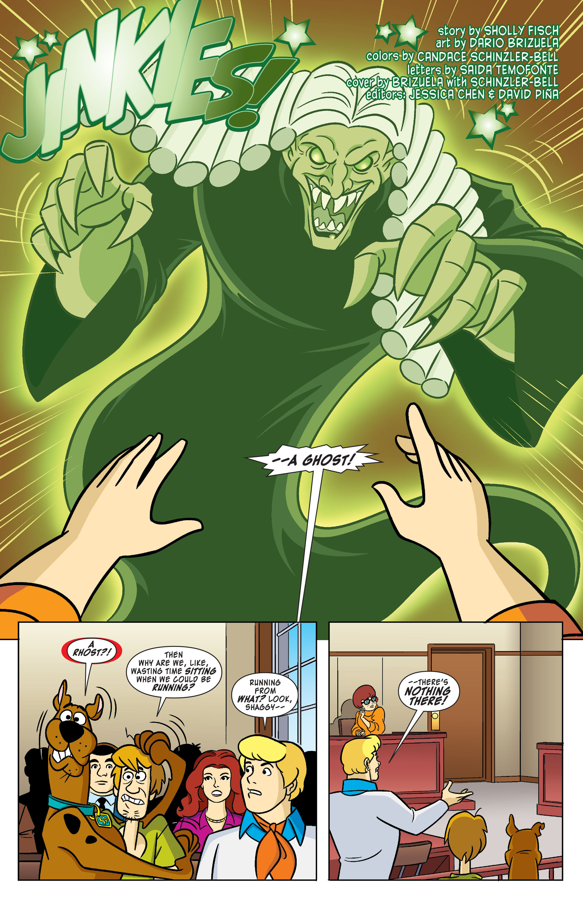 Read online Scooby-Doo: Where Are You? comic -  Issue #61 - 3