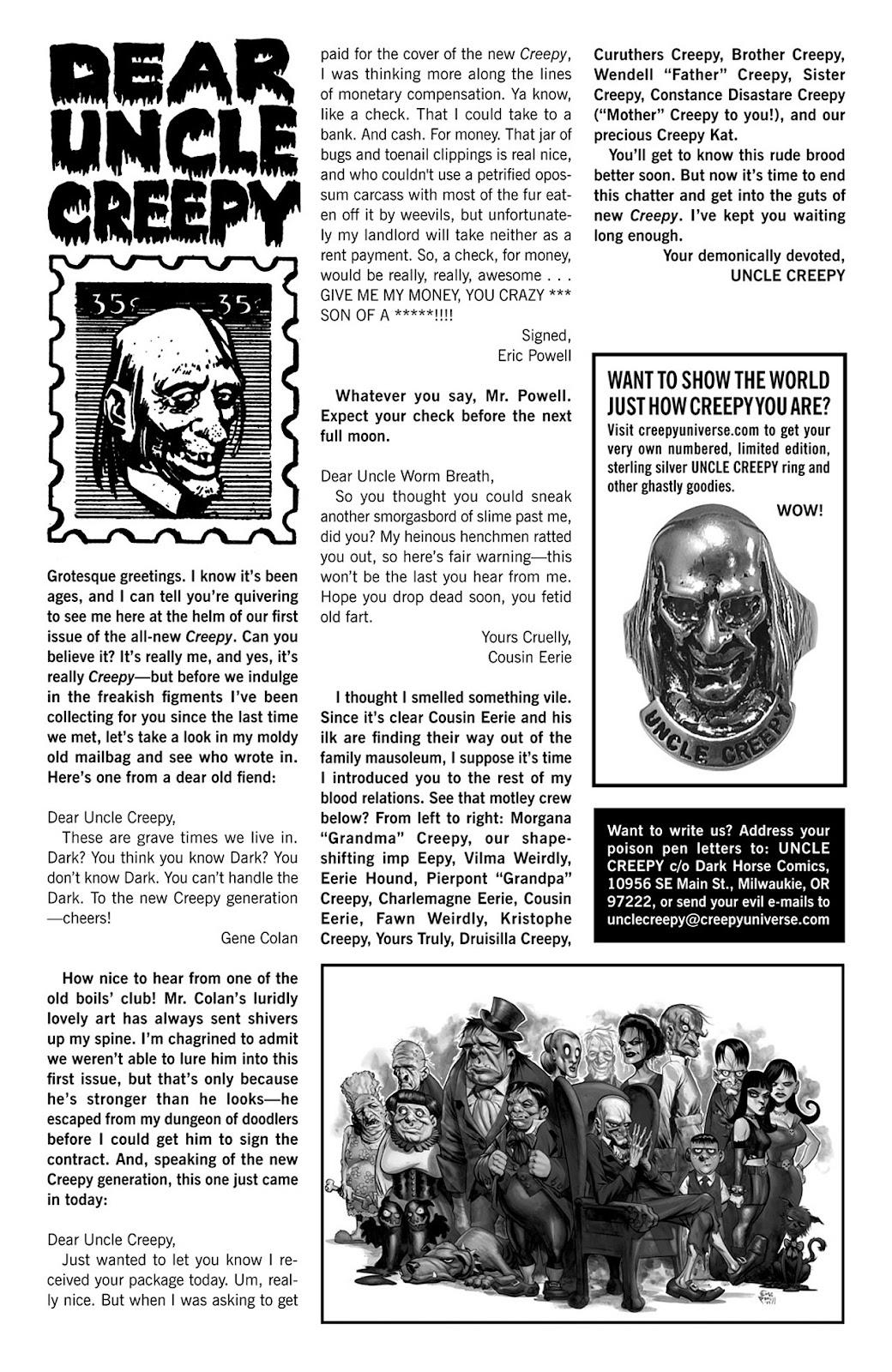Creepy (2009) Issue #1 #1 - English 4
