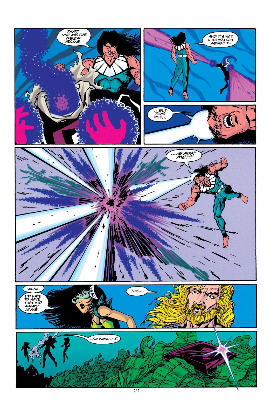 Aquaman (1994) Issue #39 #45 - English 21