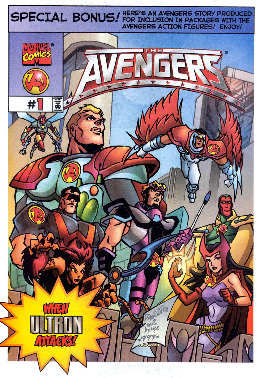 Read online Avengers United They Stand comic -  Issue #7 - 31