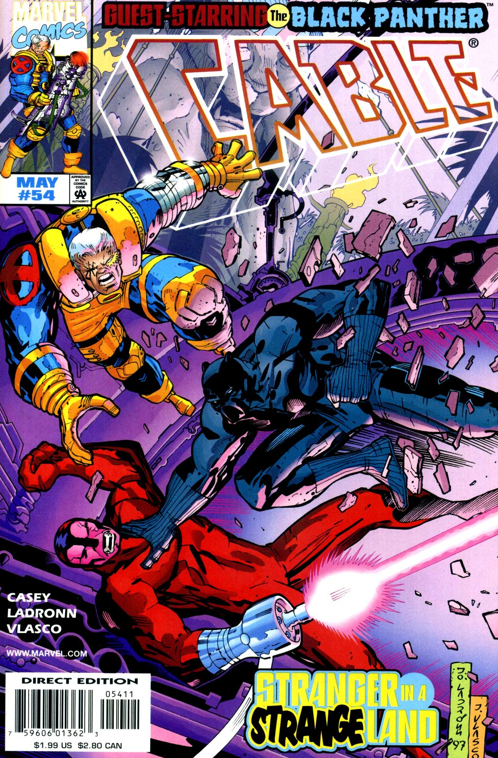 Cable (1993) 54 Page 1