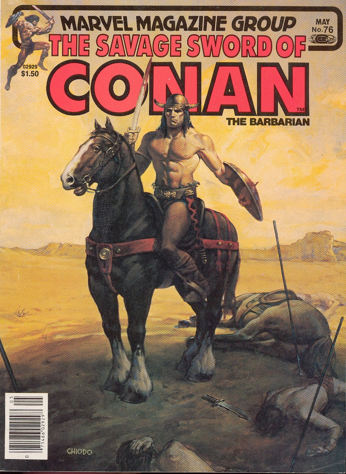 The Savage Sword Of Conan Issue #76 #77 - English 1