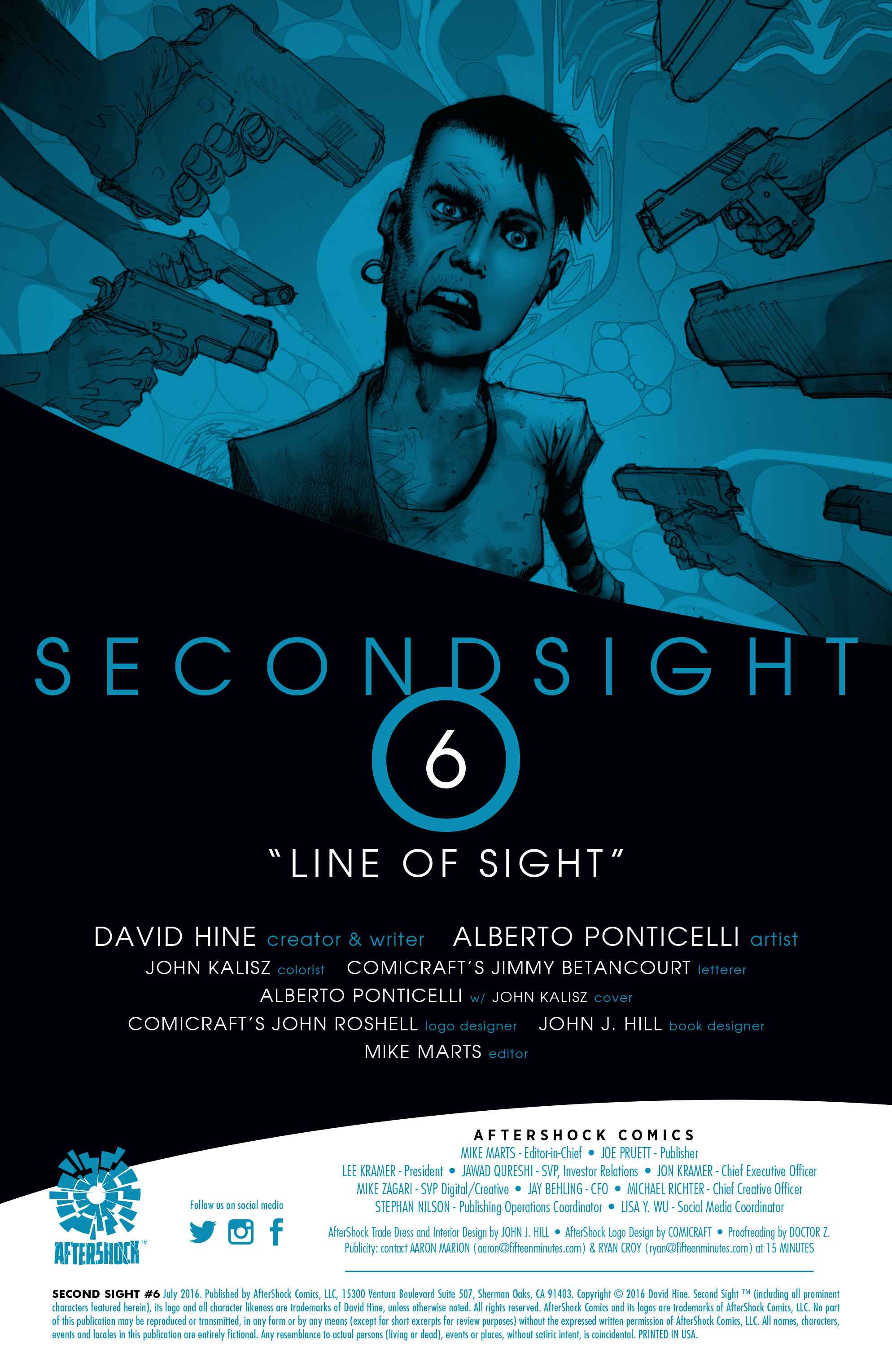 Read online Second Sight comic -  Issue #6 - 2