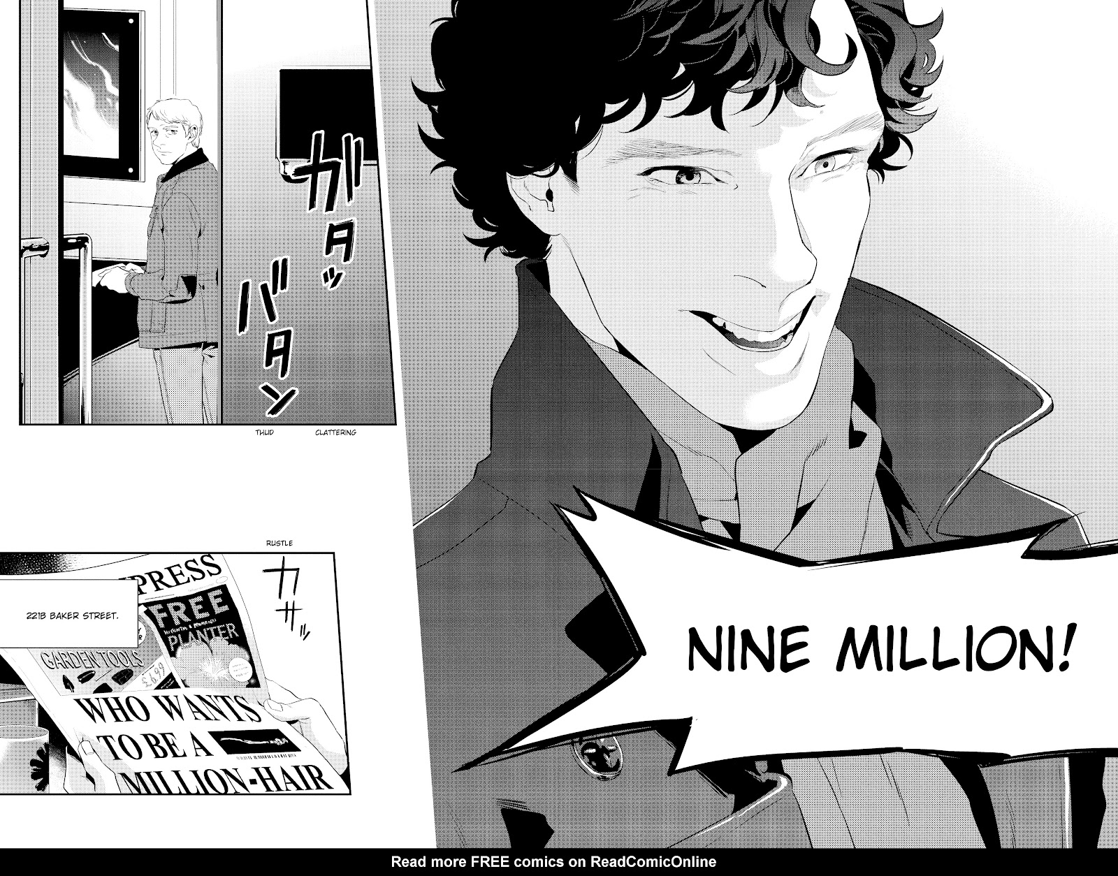 Sherlock: The Blind Banker Issue #6 #6 - English 22