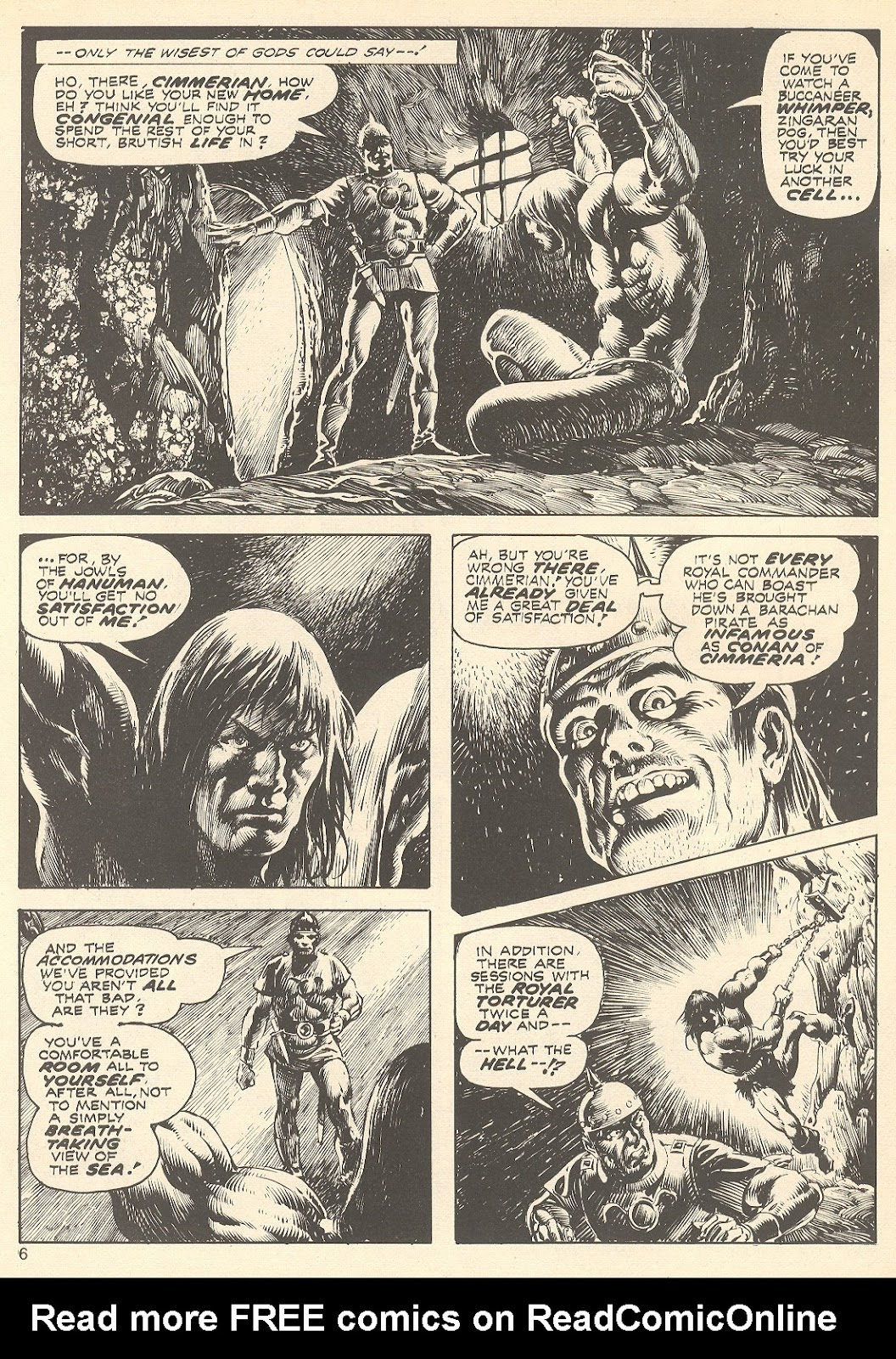 The Savage Sword Of Conan Issue #75 #76 - English 6