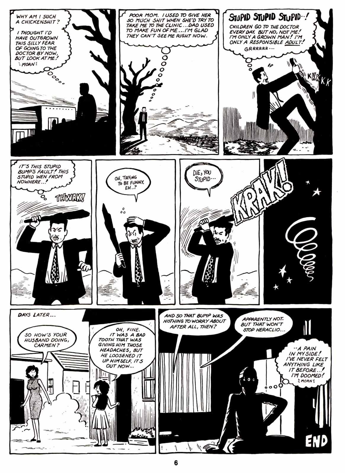Love and Rockets (1982) Issue #6 #5 - English 8