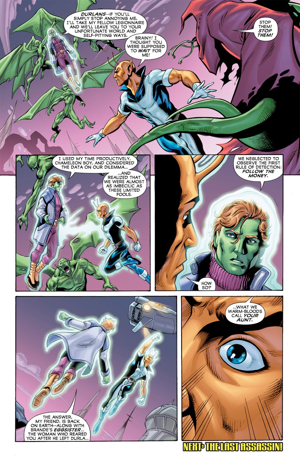 Legion of Super-Heroes (2010) Issue #9 #10 - English 21