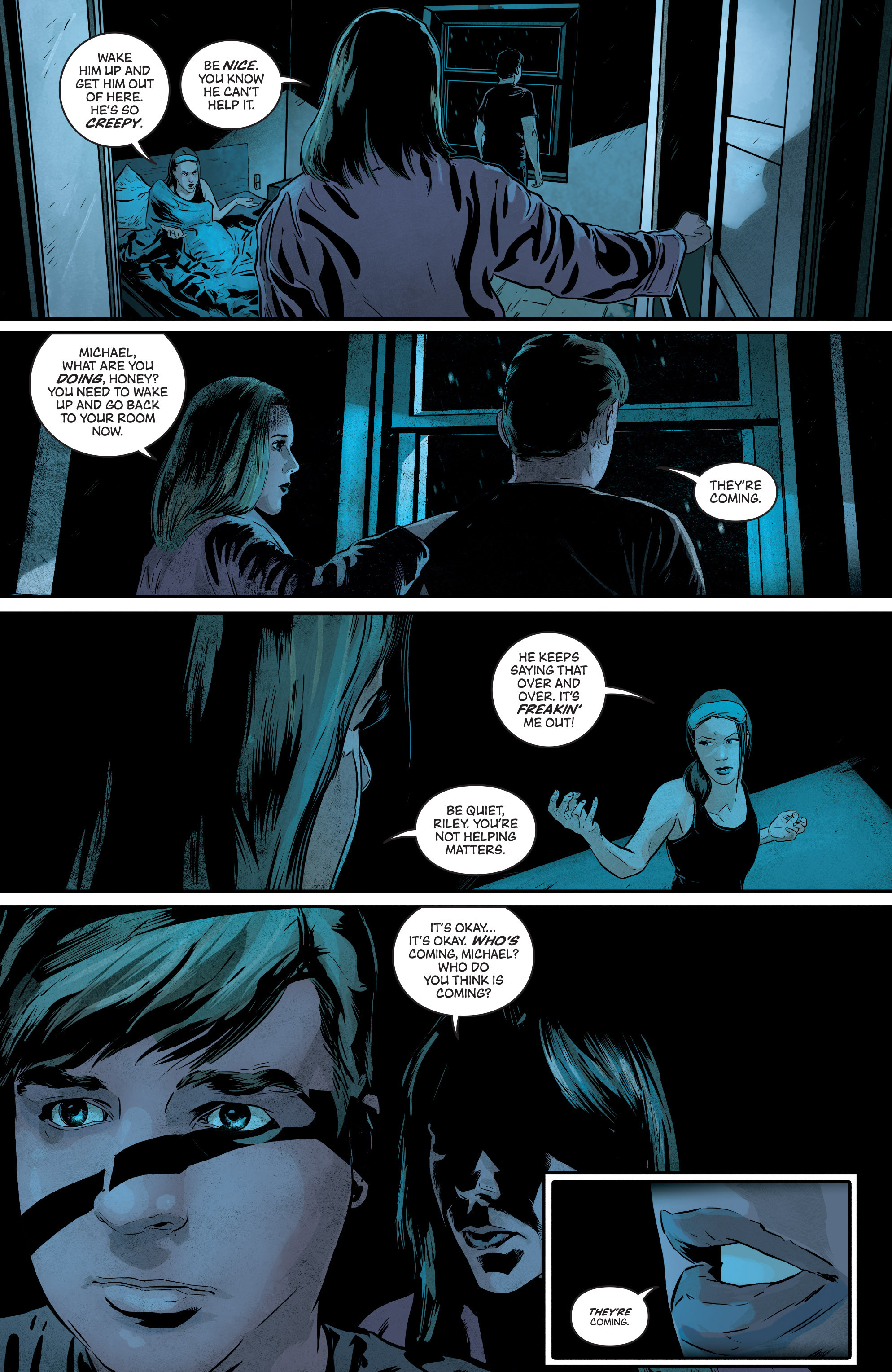 Read online Second Sight comic -  Issue #3 - 27